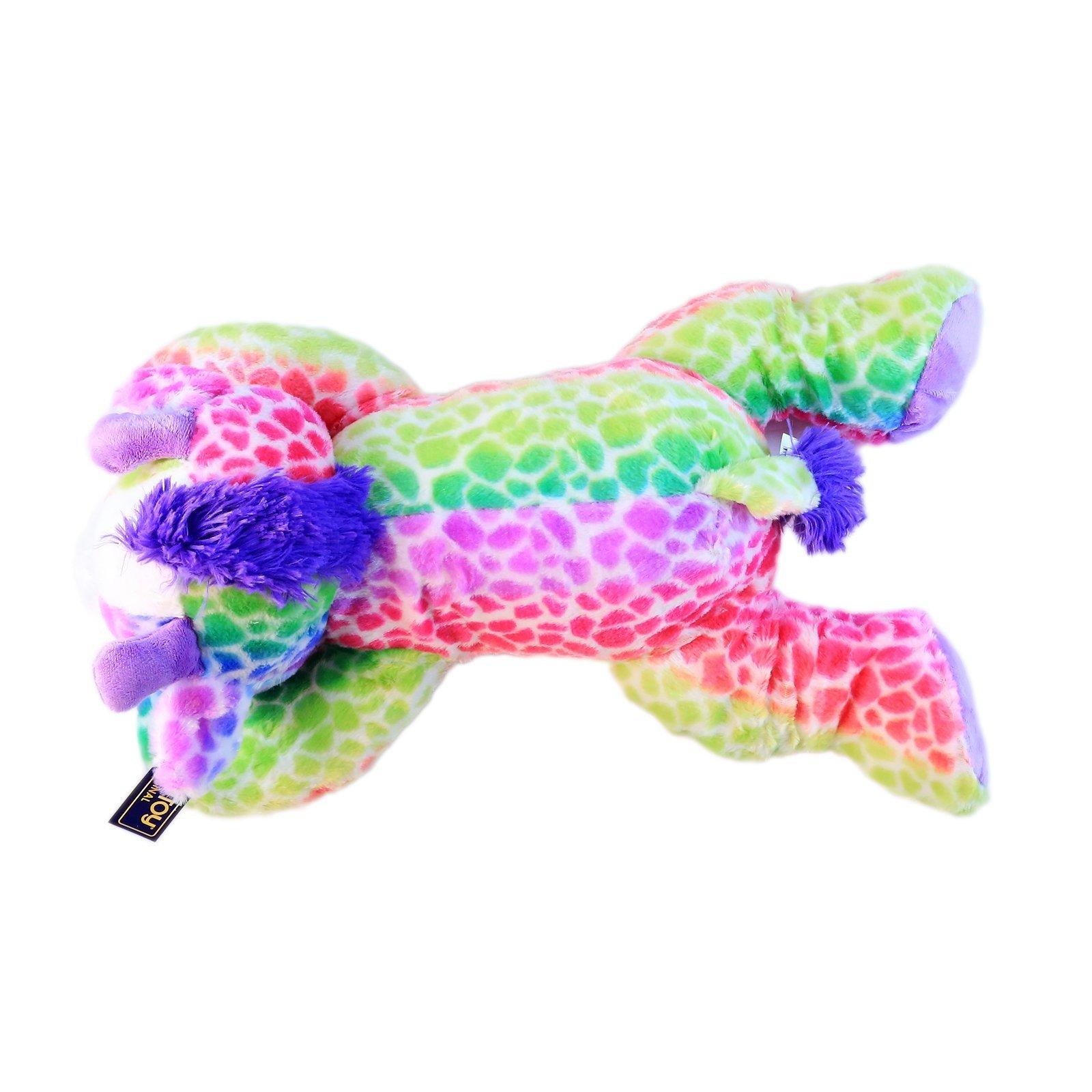 KidPlay Kuddle Toys Huggable Plush Cow Stuffed Animal Gift 23.5 Inches Long