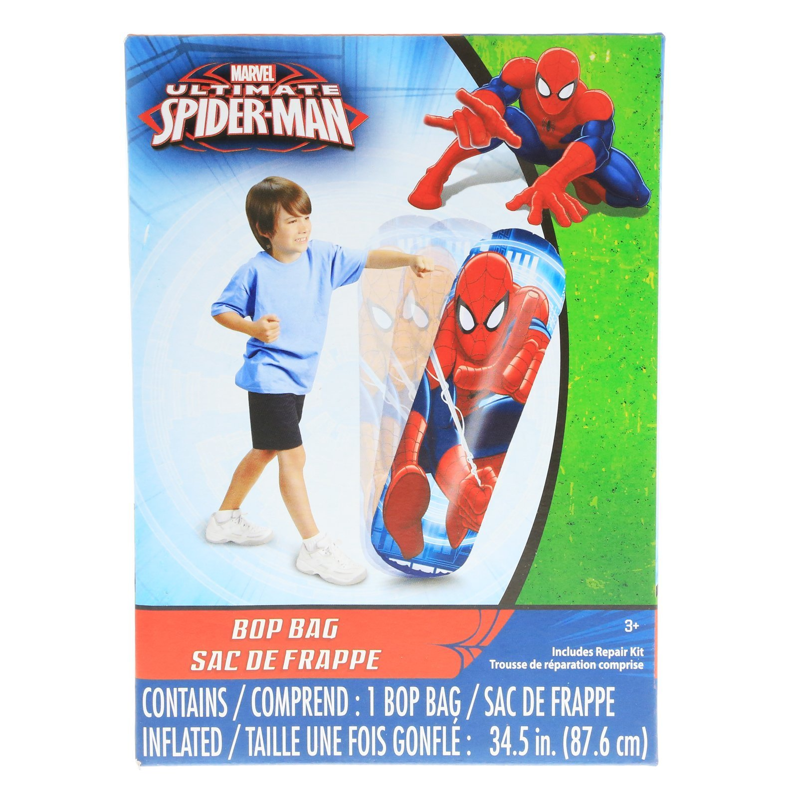 Marvel Spiderman Kids Inflatable Punching Bop Bag