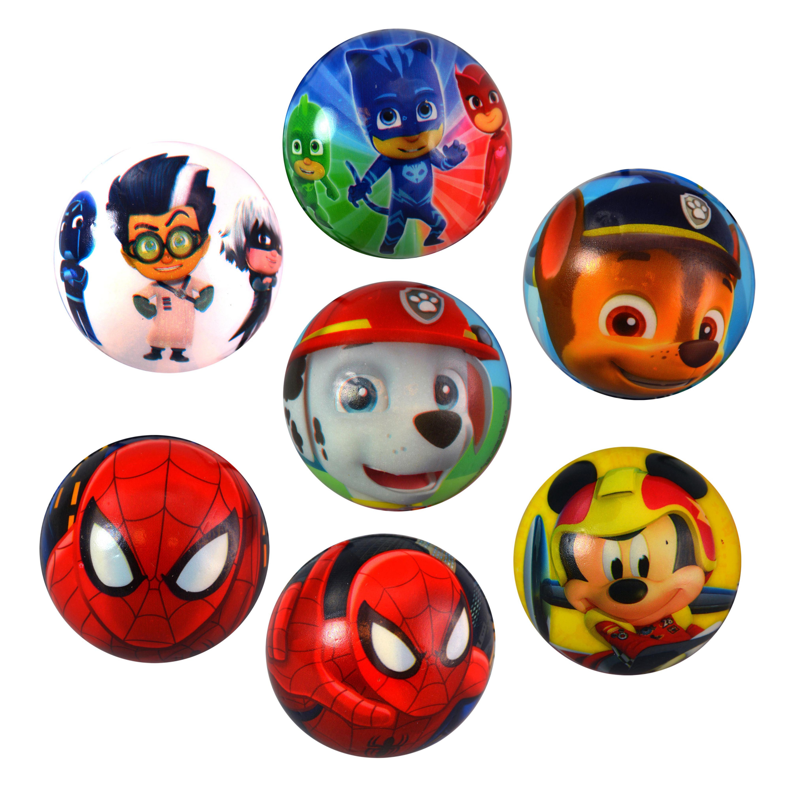Spider-Man 3 Inch Blue Foam Ball Sports Toys for Kids