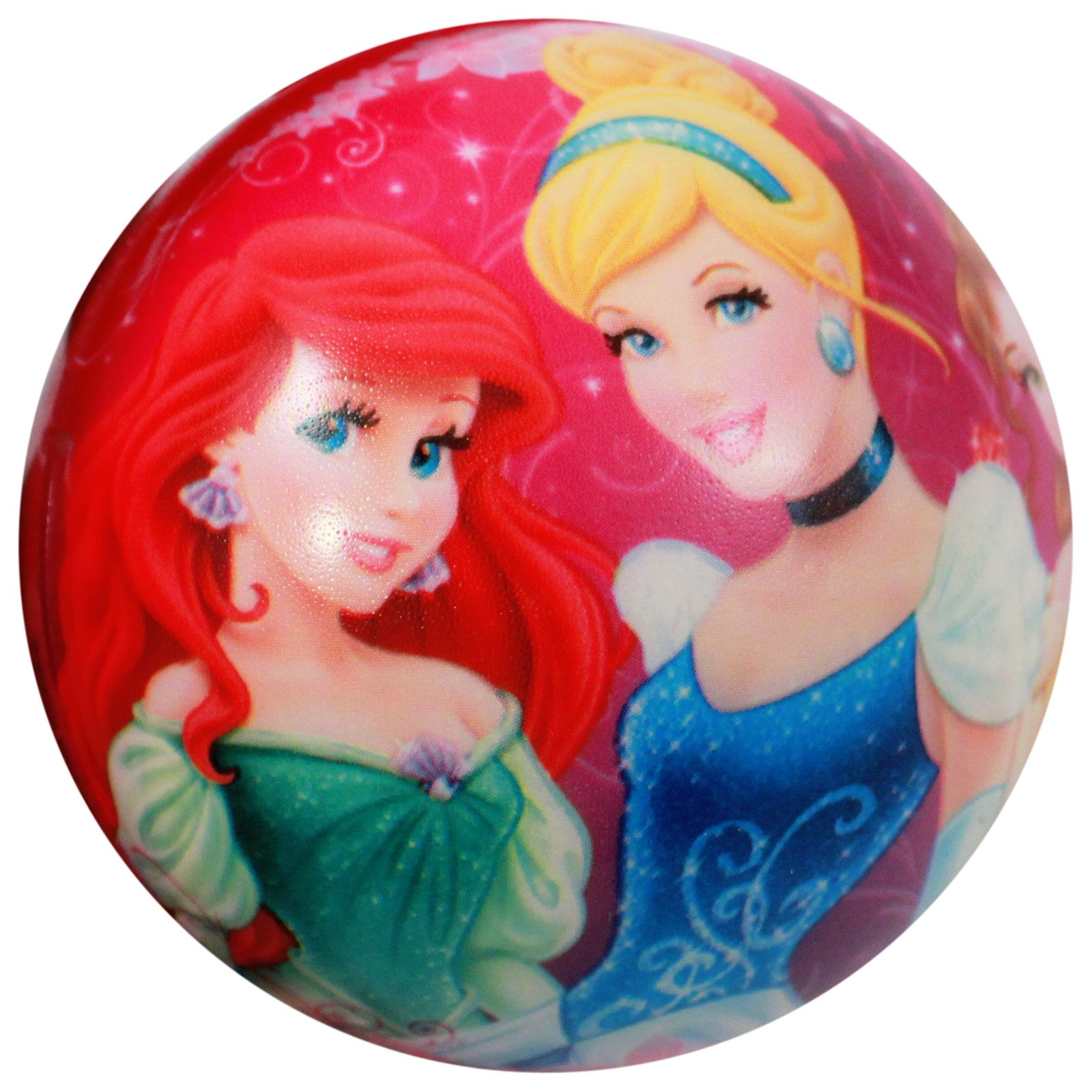 Disney Princess Cinderella Ariel Belle Girls Foam Bouncy Ball Indoor Play Toy