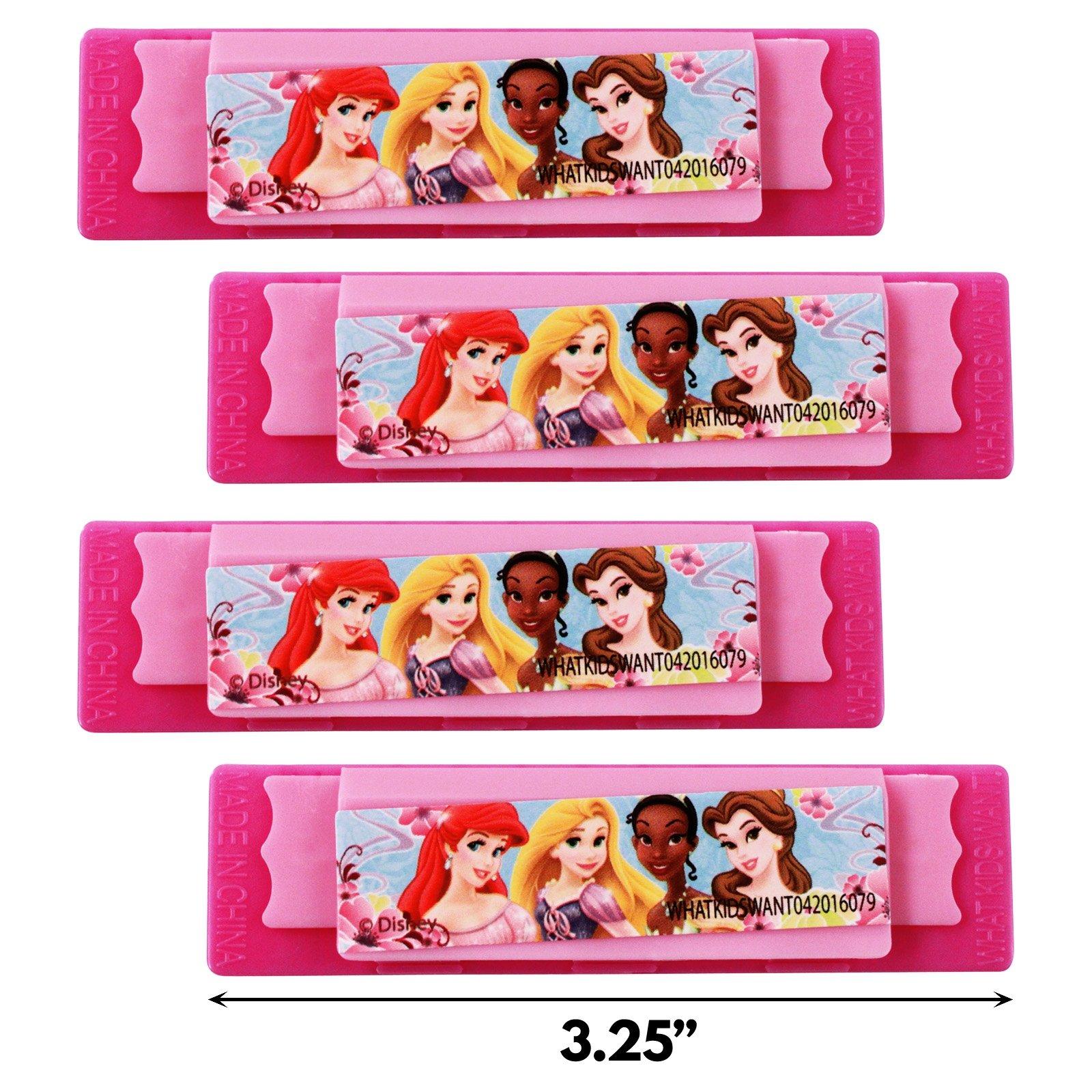 Disney Princess Mini Harmonica Music Instrument 4pk