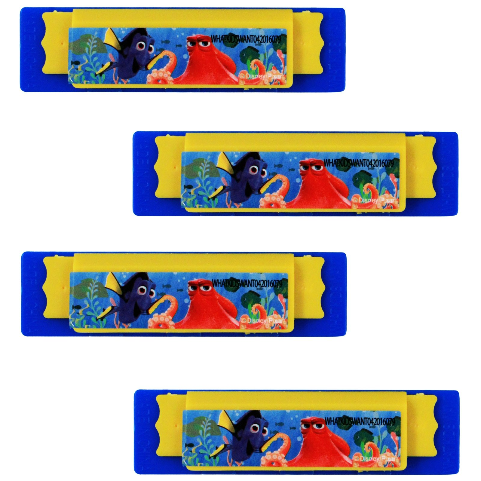 Disney Pixar Officially Licensed Finding Dory Mini Harmonica Music Toy 4pk