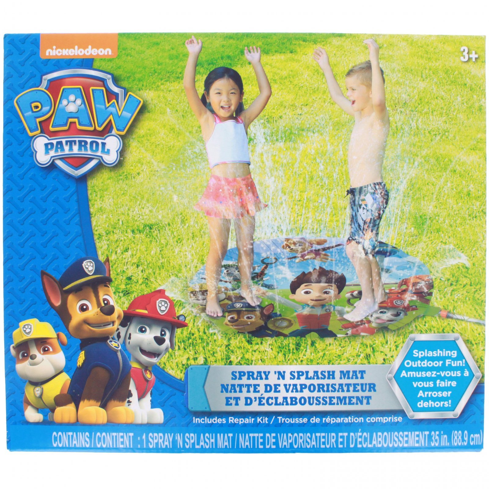 "Nickelodeon Paw Patrol 35"" Water Spray Mat"
