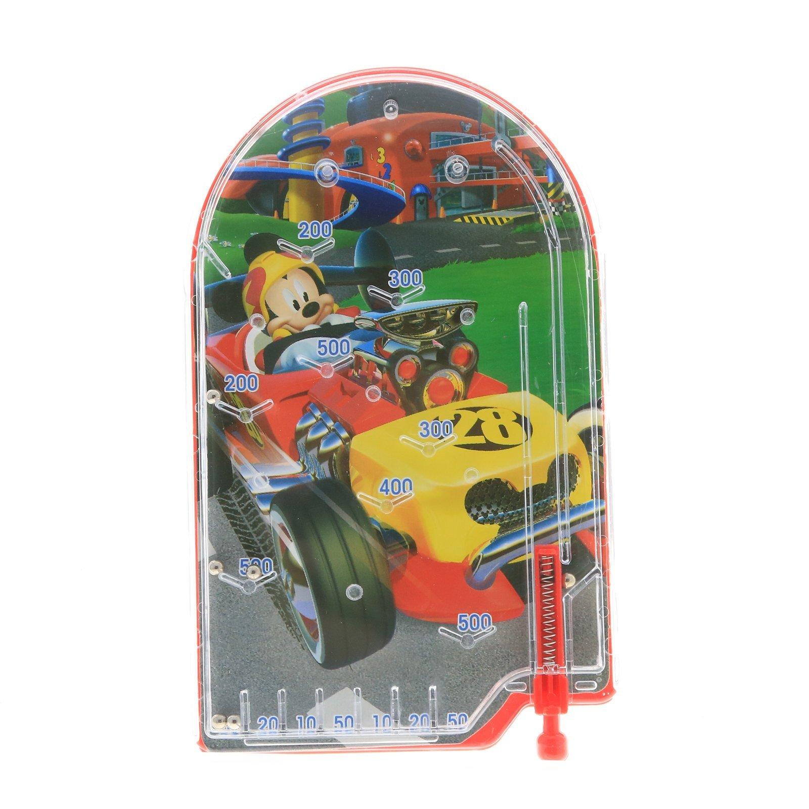 Disney Mickey Mouse Boys Handheld Pinball Game Travel Toy Stocking Stuffer