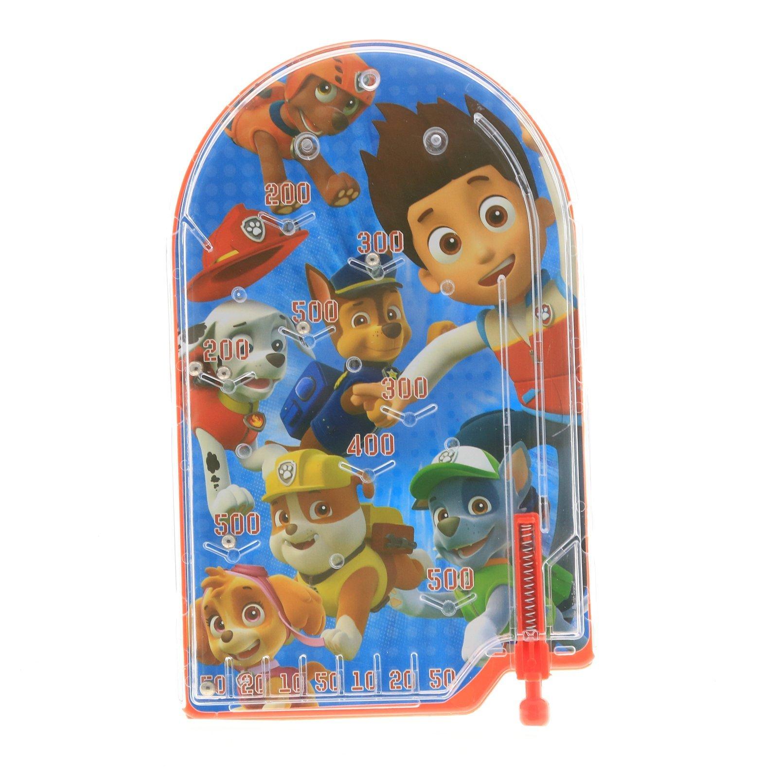 Nickelodeon Paw Patrol Boys Handheld Pinball Game Travel Toy Stocking Stuffer