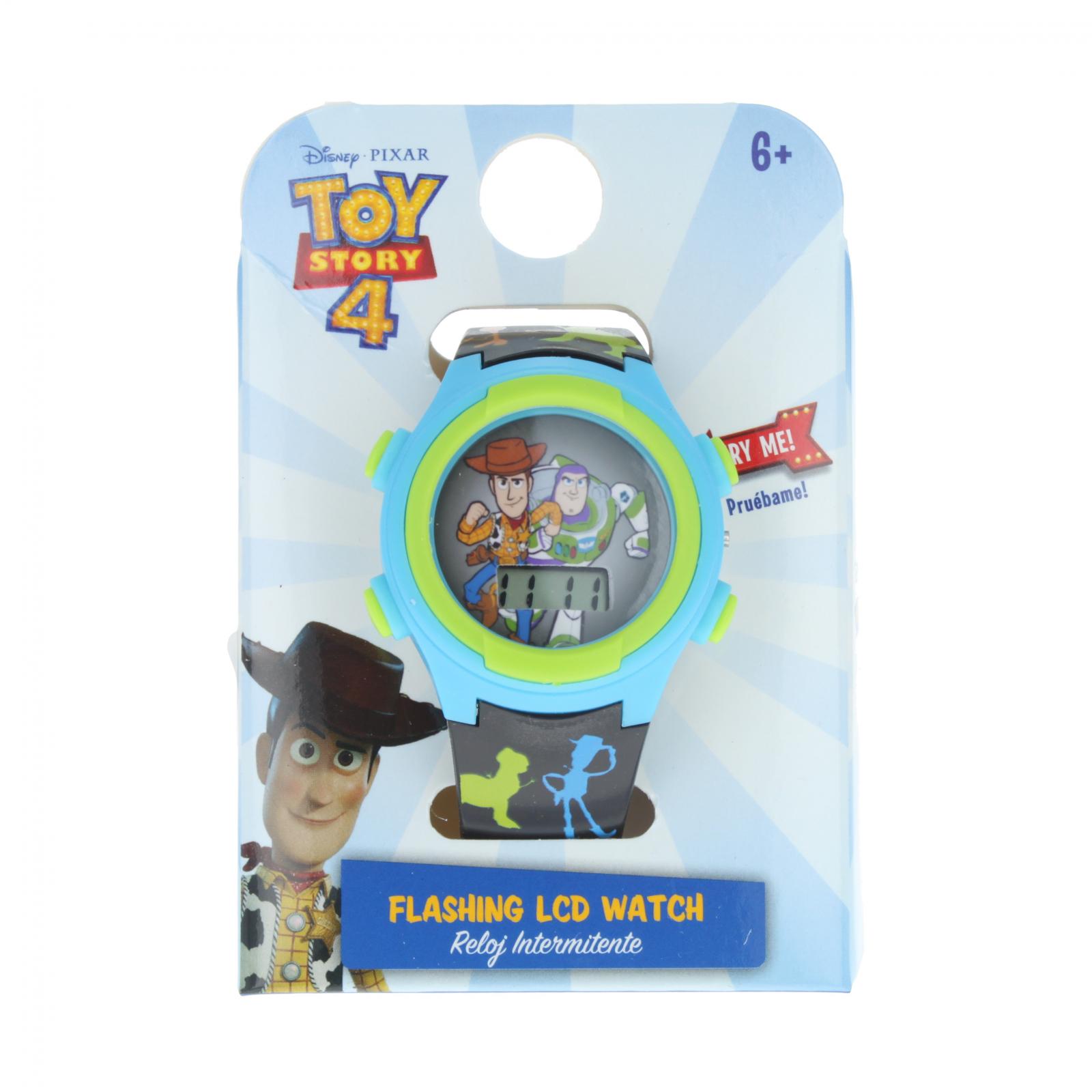 Toy Story 4 Adjustable Light Up Flashing LCD Wrist Watch