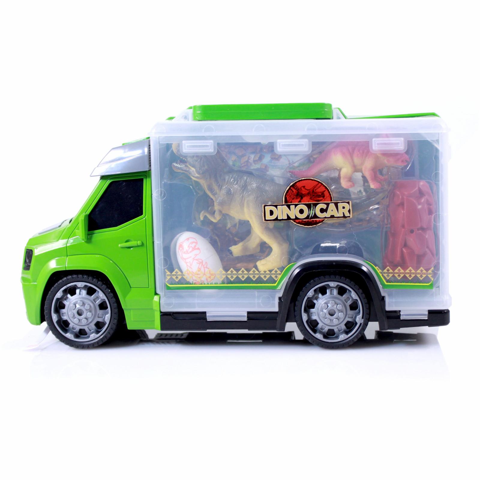 TychoTyke Dinosaur Transport Truck Green