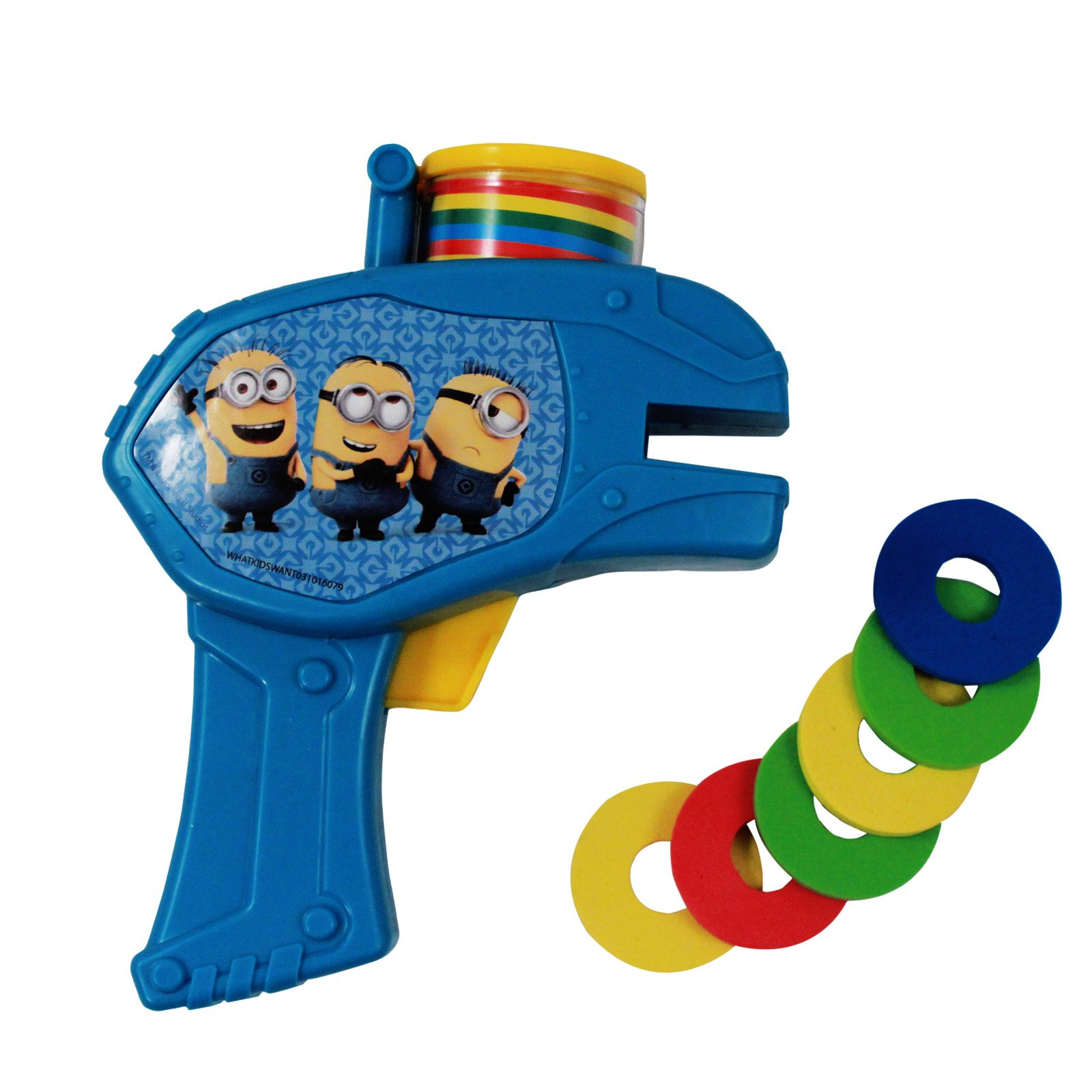 Despicable Me Minions Foam Disc Shooter Gun
