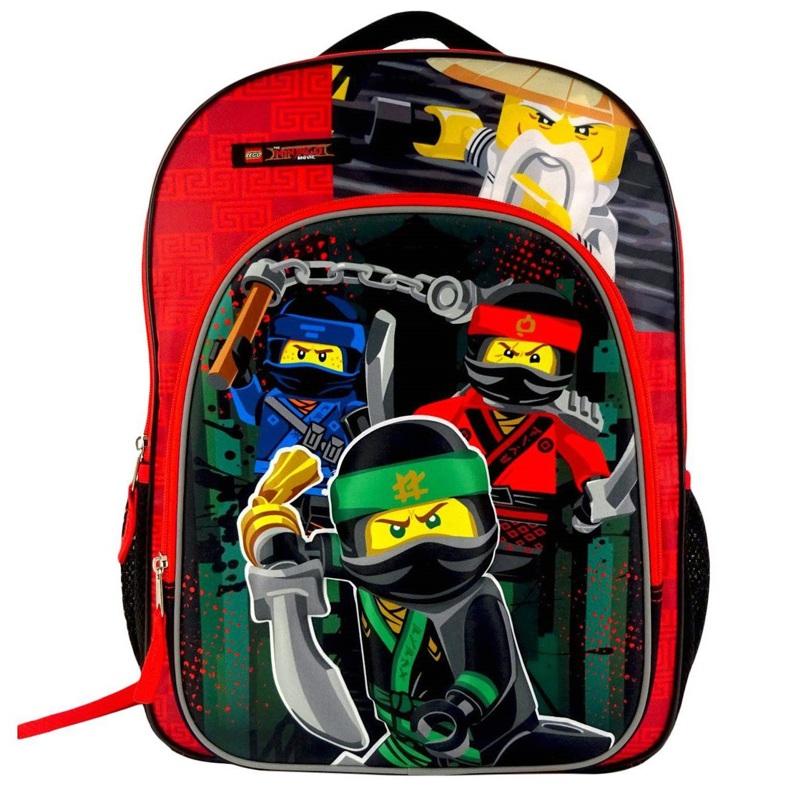 The Lego Ninjago Movie Kids Backpack for School and Travel