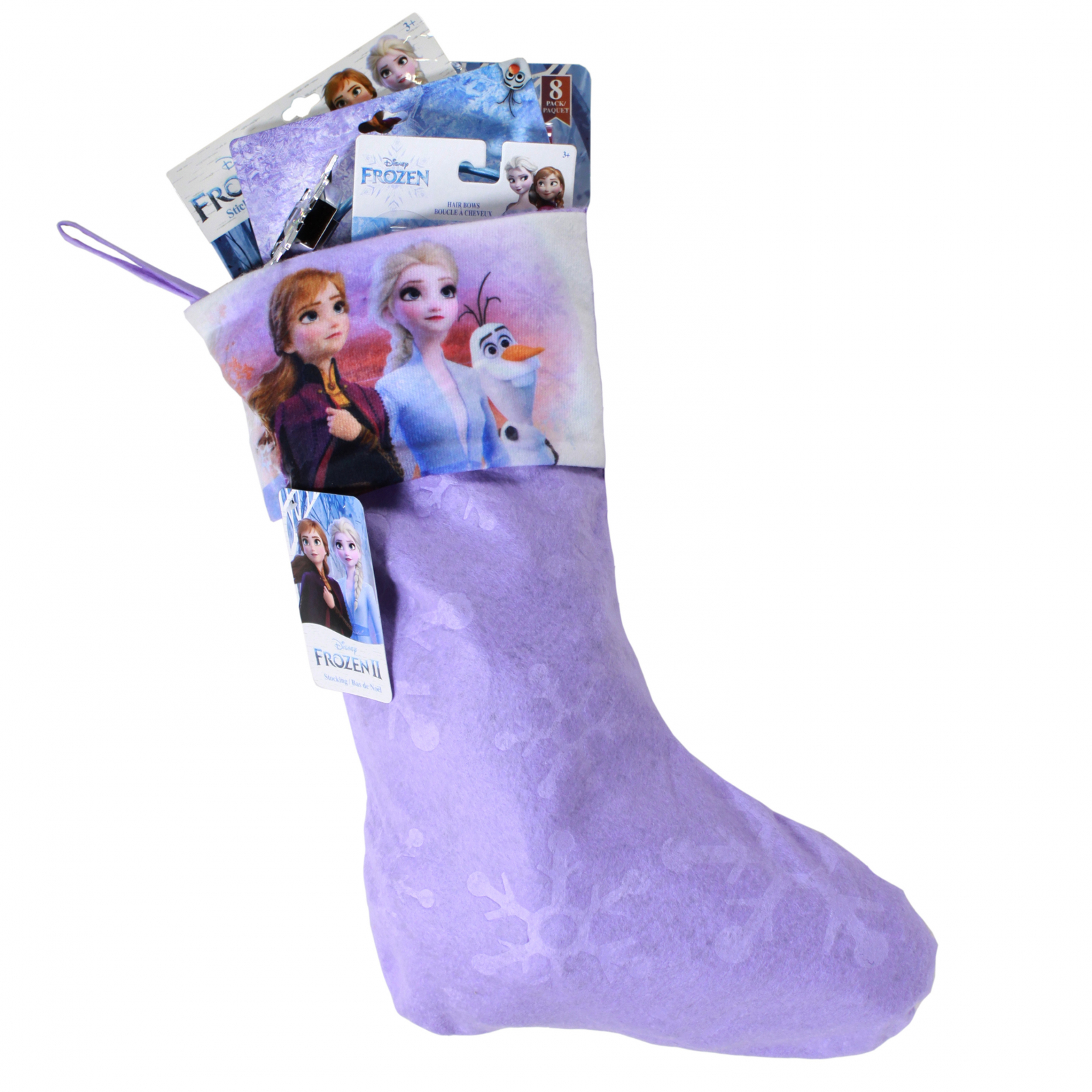 Frozen 2 Kids Christmas Stocking Filled with Toys 14 Pieces