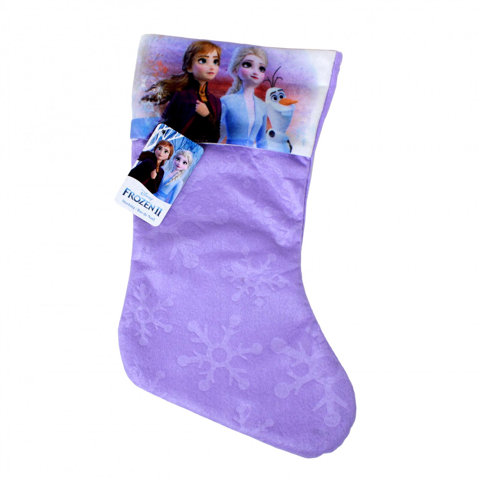 Disney Frozen 2 Girls Christmas Stocking Home Decor 15.5 In