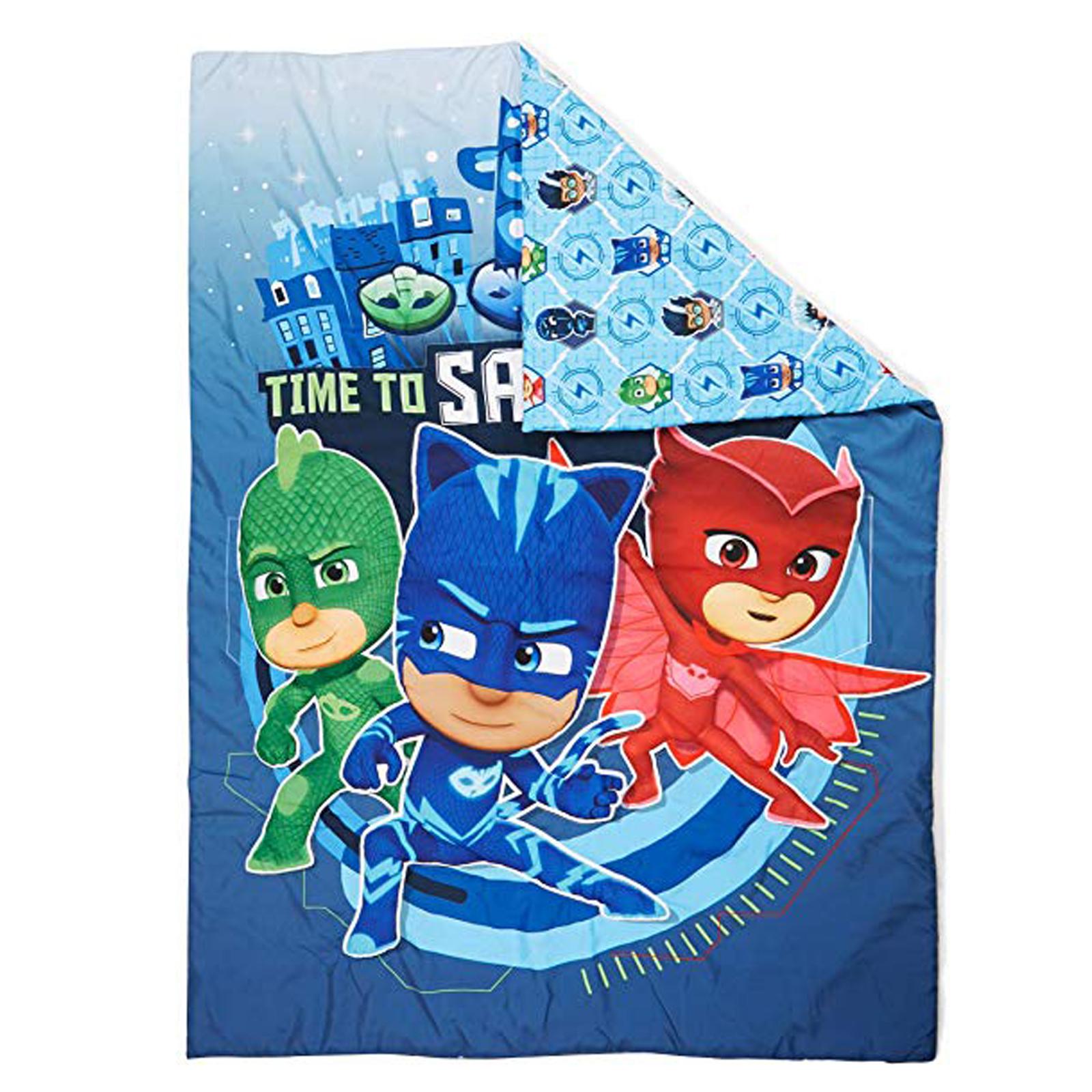Disney Junior PJ Masks Toddler Size Comforter Blanket