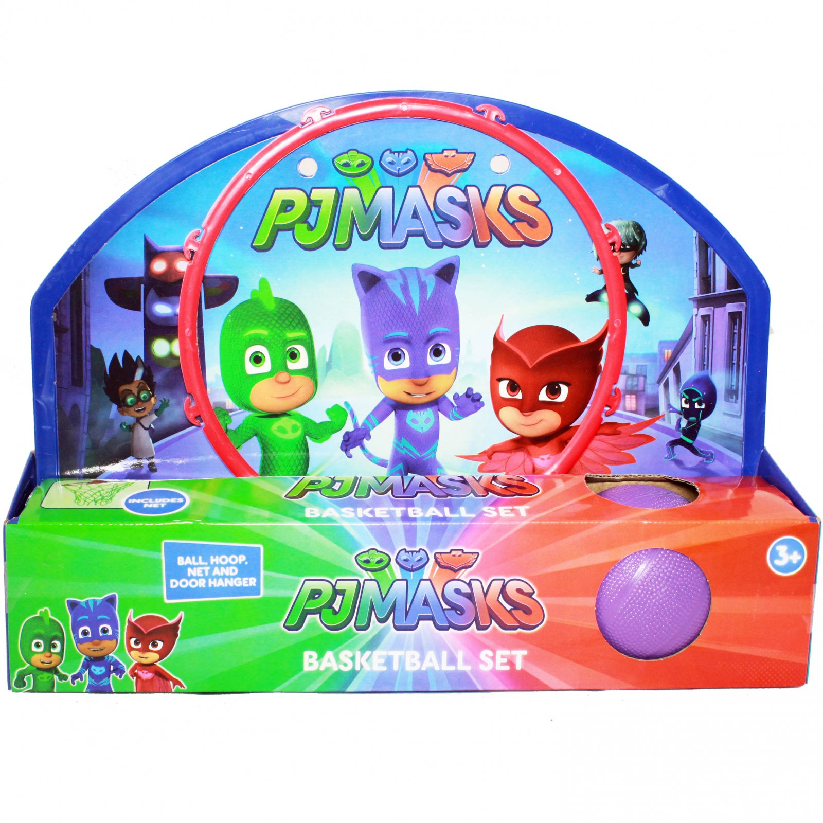 Disney PJ Masks Kid's Basketball Hoop with Ball