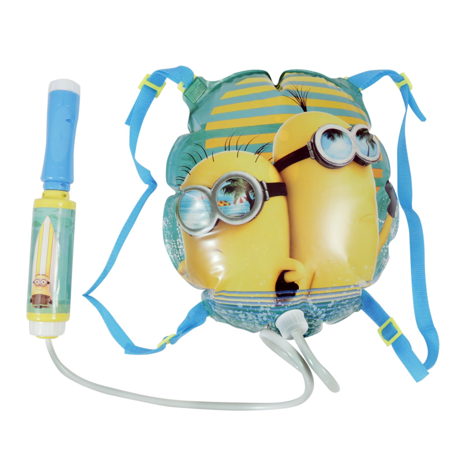 Despicable Me Minion Water Blaster Backpack Fun in the Sun