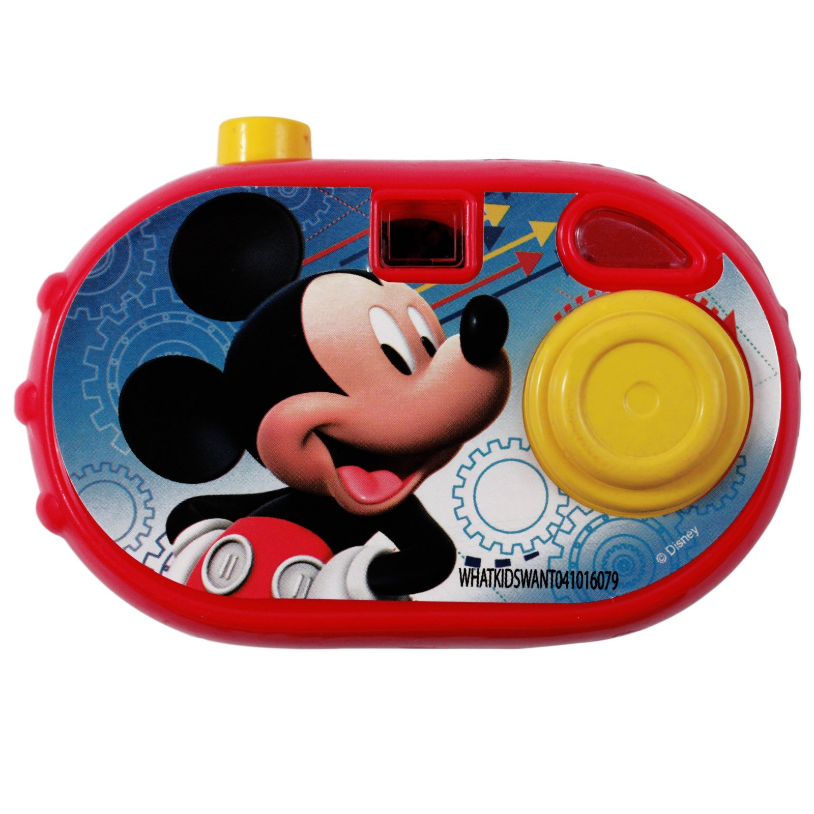Disney Mickey Mouse Pretend Play Click Camera Toy Gift Party Favor - Red