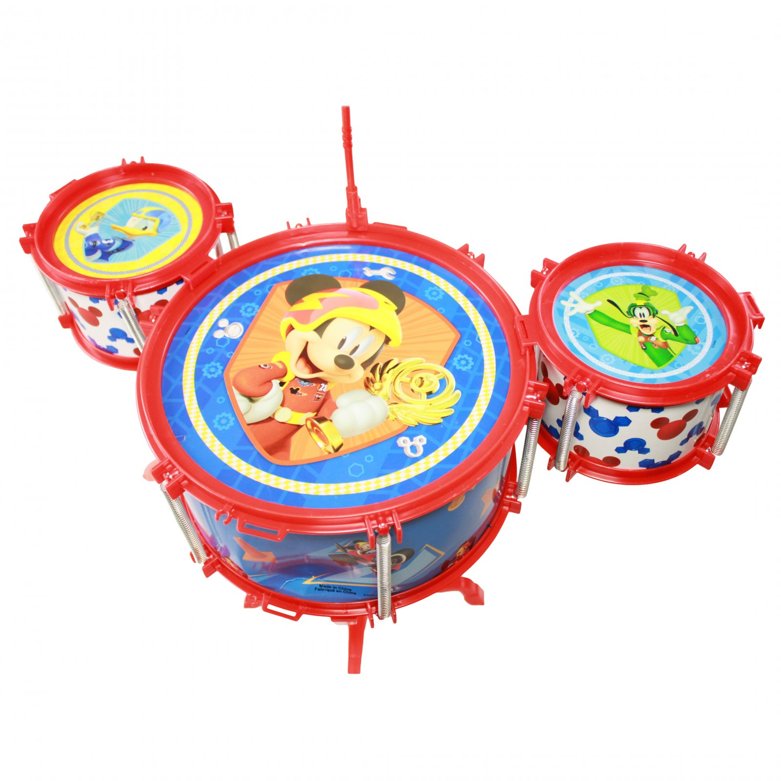 Mickey and the Roadster Racers Drum Set Ensemble Tambour