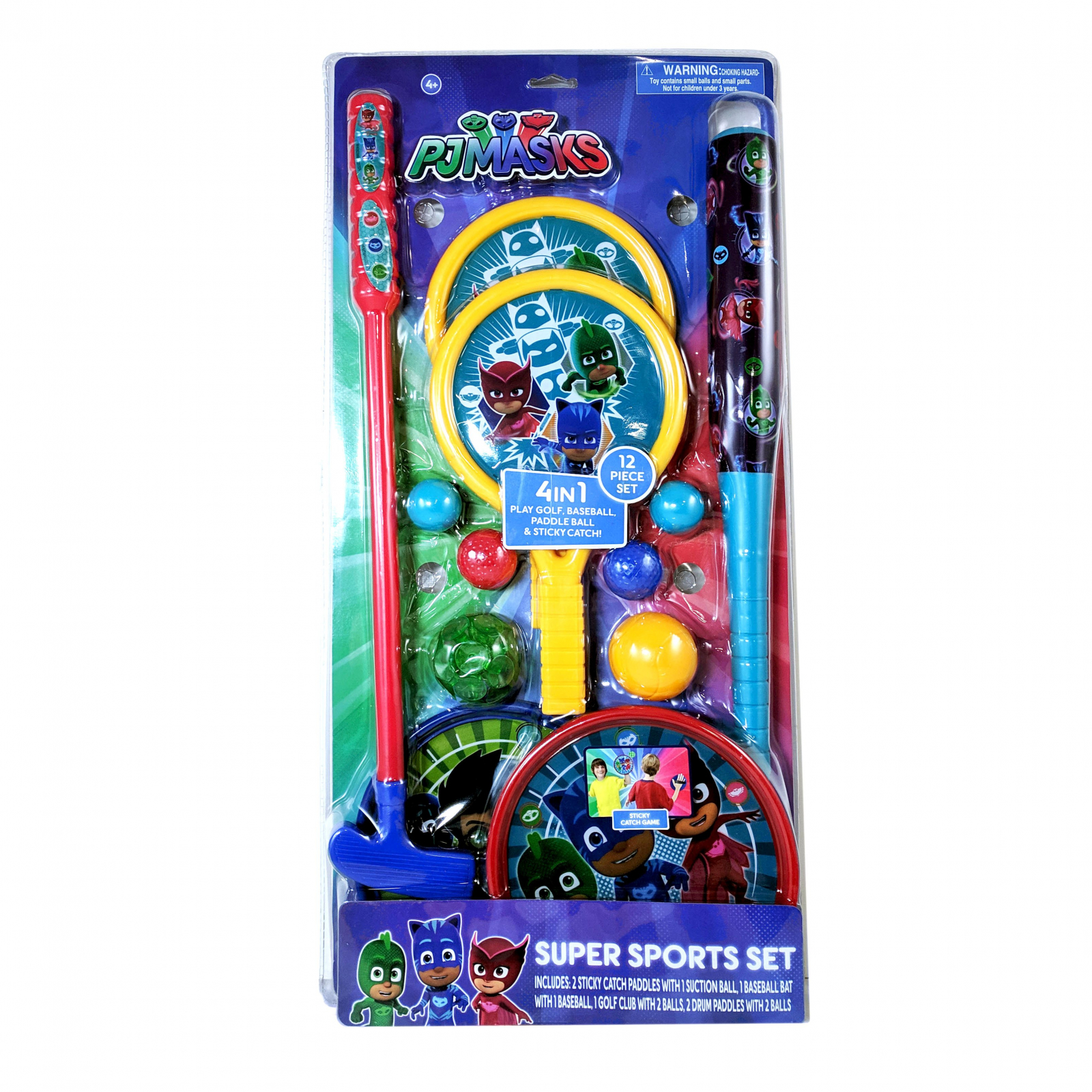 Disney Junior PJ Masks Super Sports Set 12 Piece Outdoor Toy