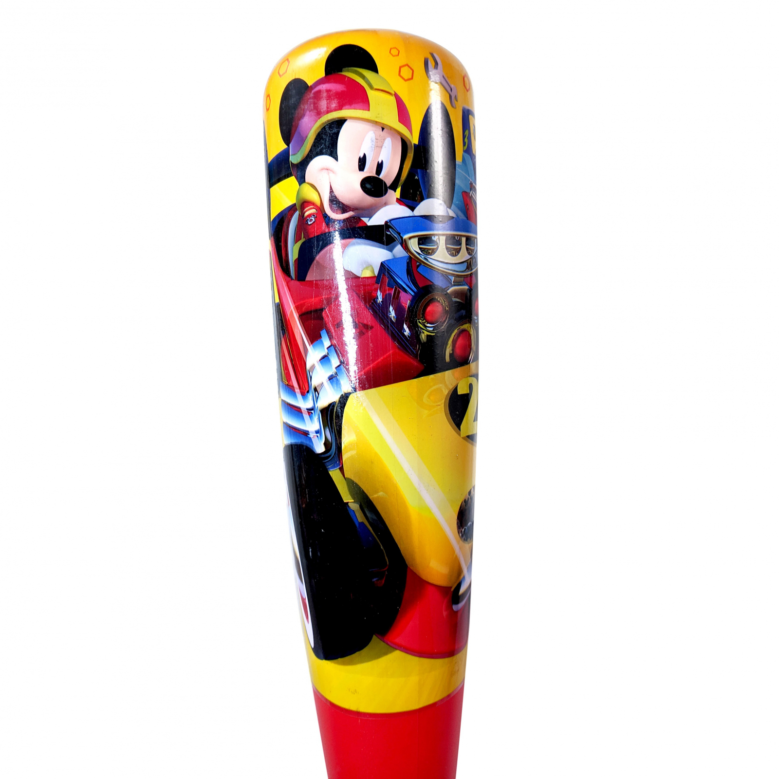 Mickey Mouse Roadsters Baseball and Bat Set