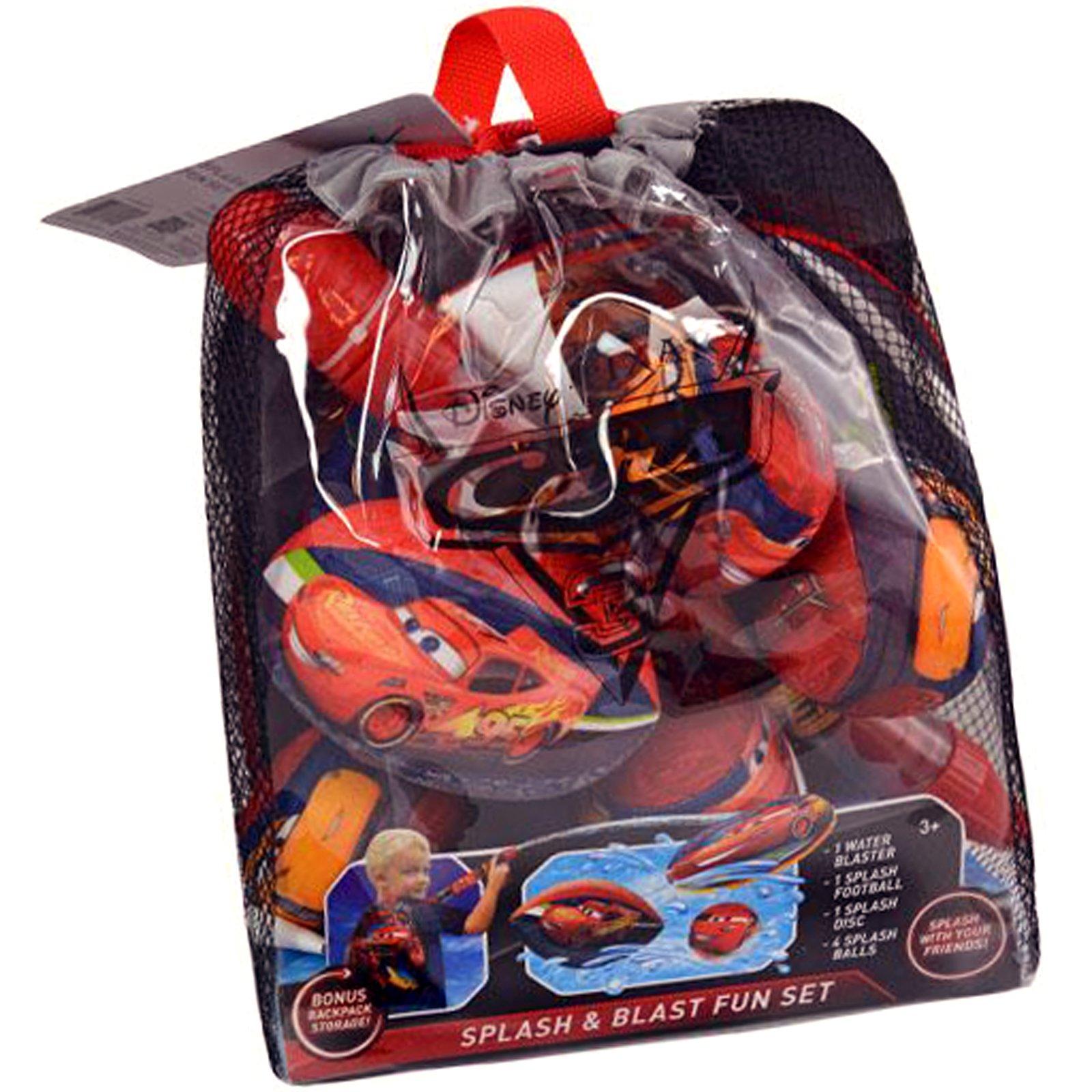 Disney Cars Splash & Blast Fun Set Backpack