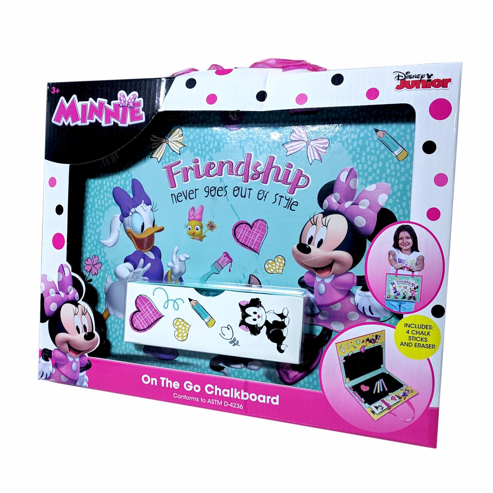 Minnie Mouse Travel Chalkboard Drawing Art Set