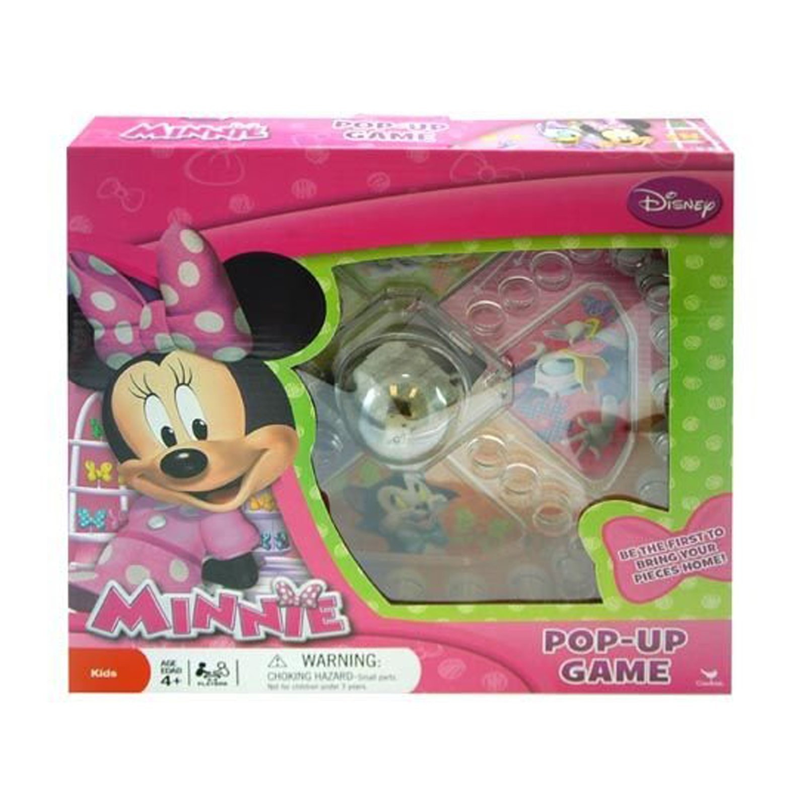 Disney Minnie Mouse Pop Up Game Girls Gift Set