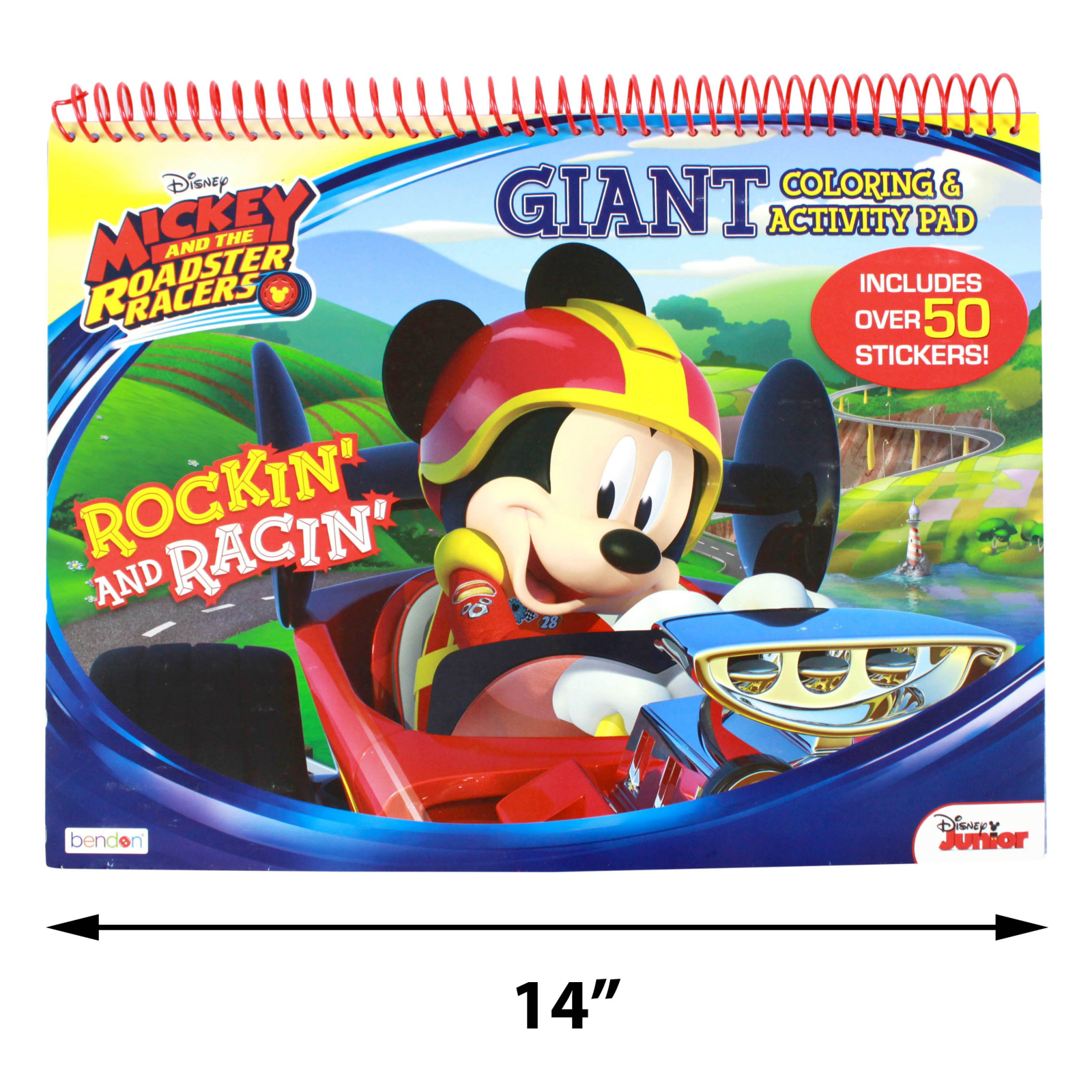 Disney Mickey Roadster Racers Giant Activity Coloring Book