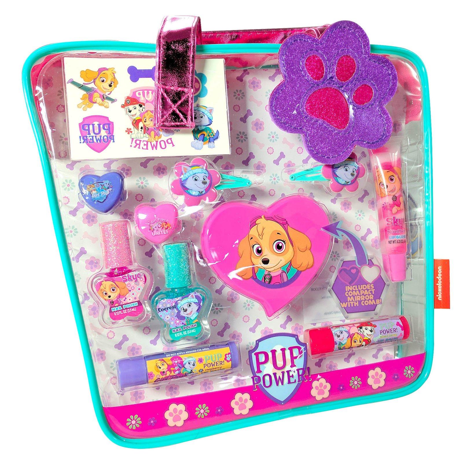 Paw Patrol Girls Cosmetics Gift Set Tote Bag 18pc
