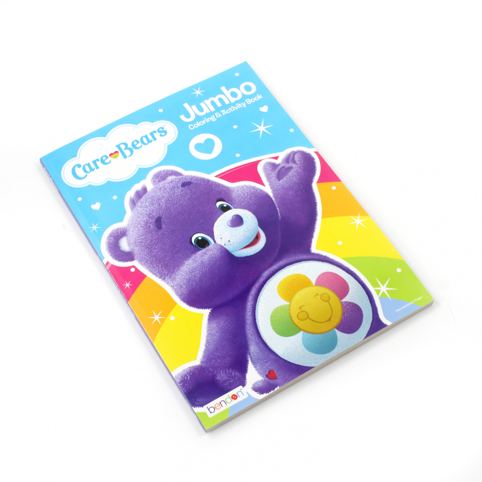 Care Bears Kids Jumbo Coloring Book Activity Harmony Bear
