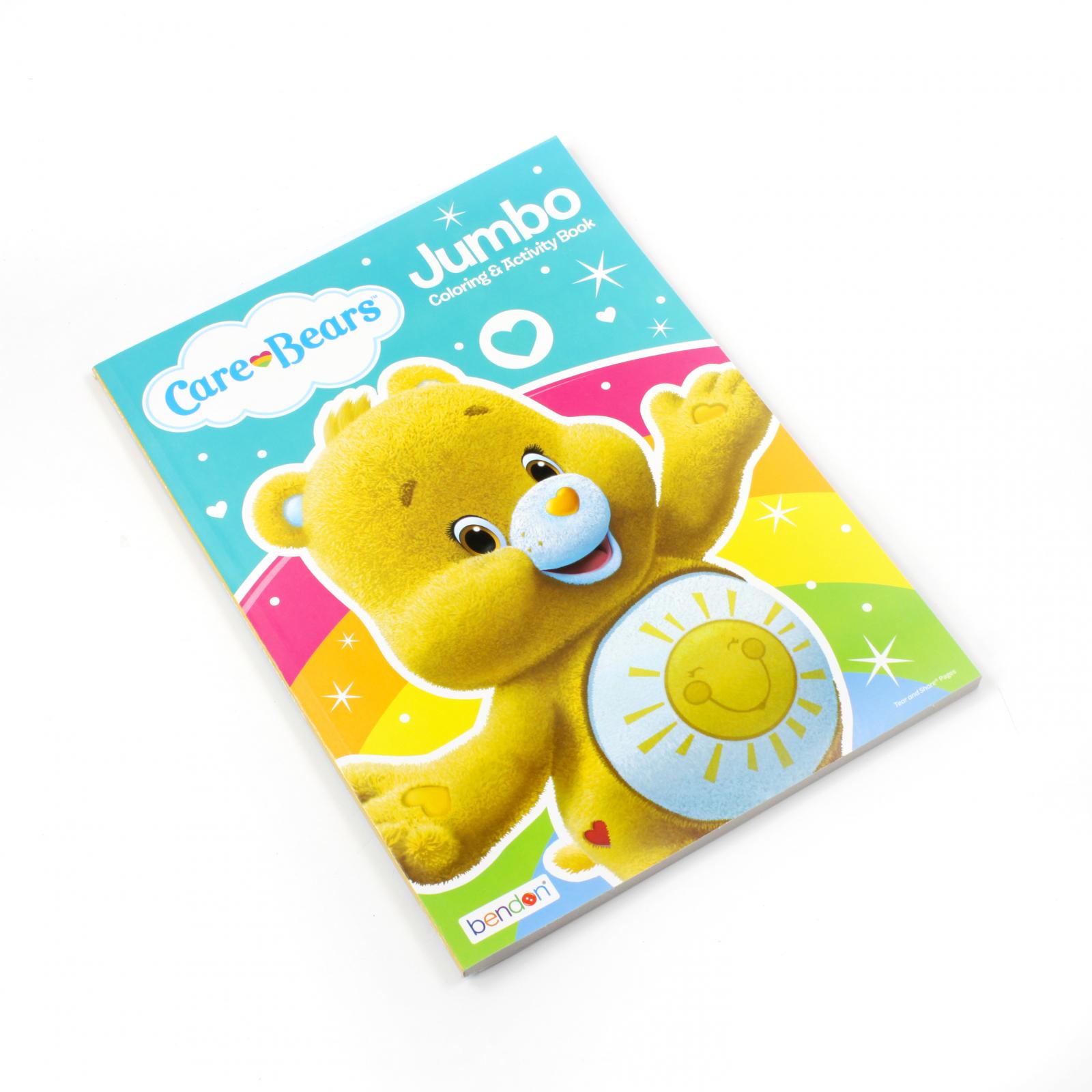 Care Bears Kids Jumbo Coloring Book Activity Funshine Bear