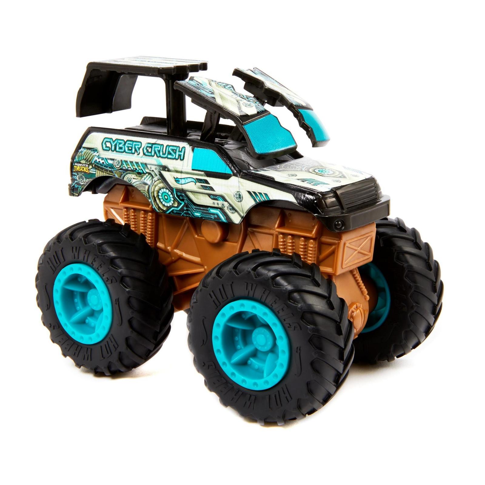 Hot Wheels Bash-Ups Monster Truck Big Wheels - Cyber Crush