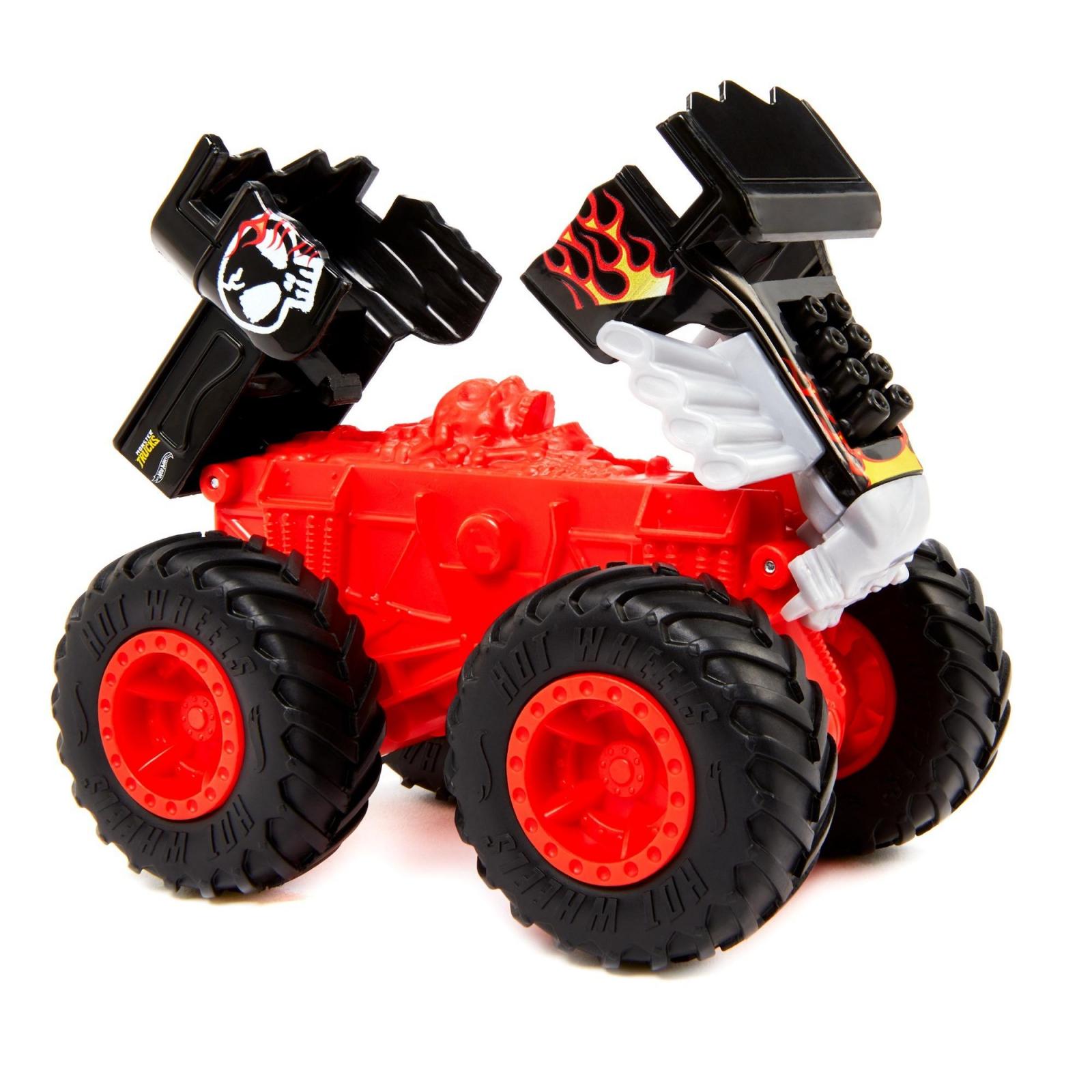 Hot Wheels Bash-Ups Monster Truck Big Wheels Bone Shaker