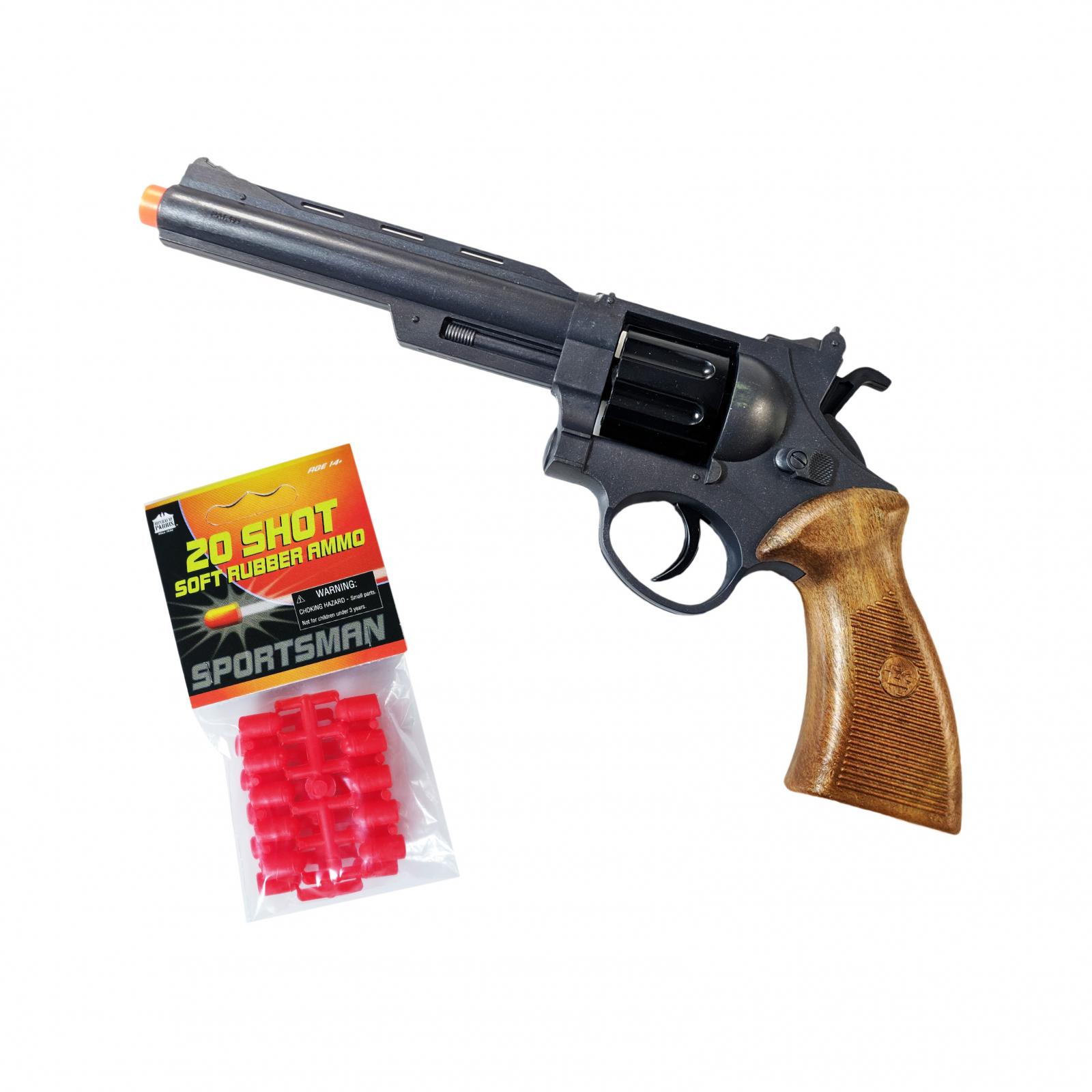 Parris Hunter Toy Target Practice Set Plastic Airsoft Pistol Knock Down Targets
