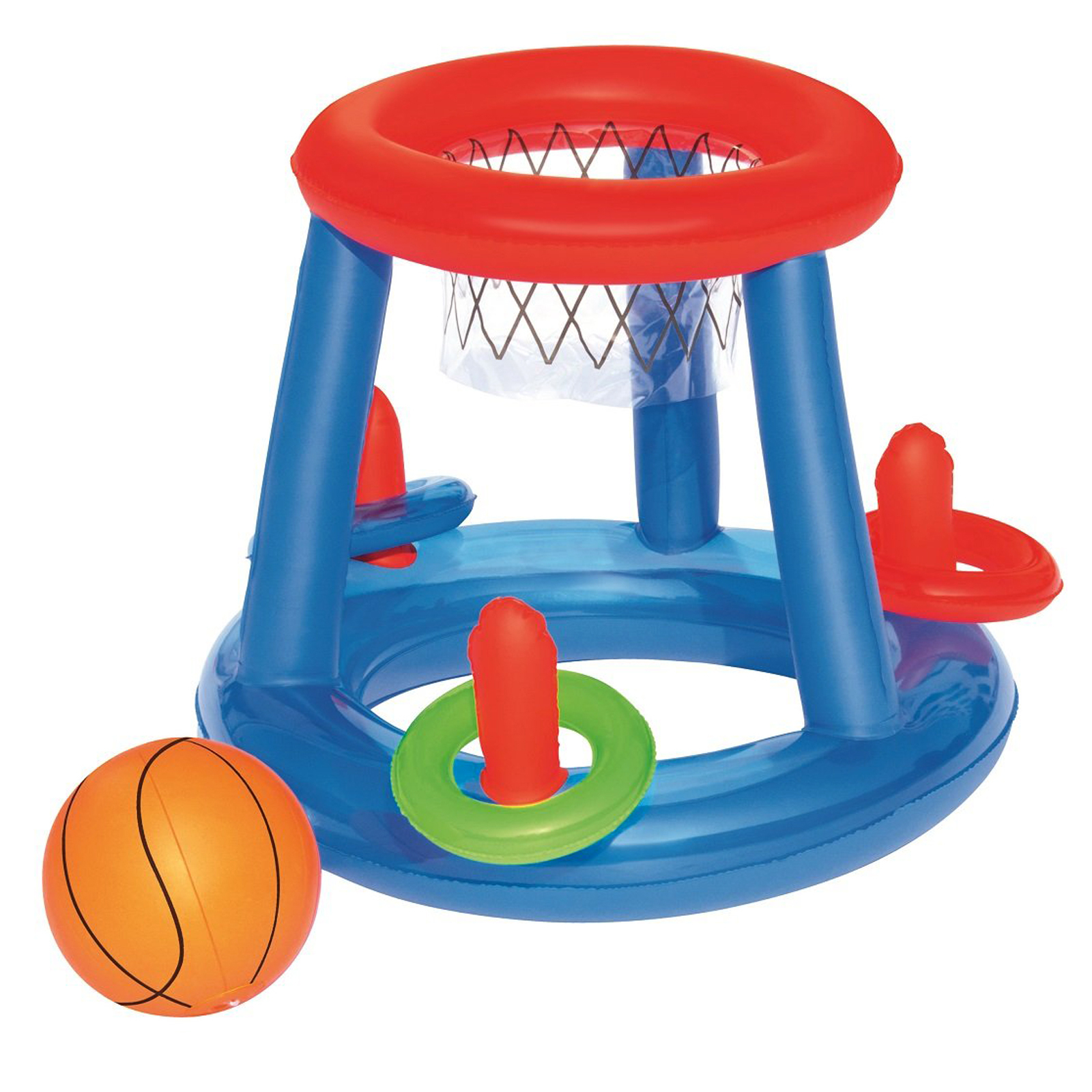 H2O GO! Inflatable Basketball Ring Toss Pool Sport Play Toy Game Center