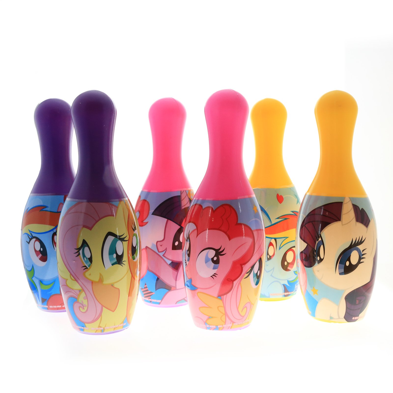 My Little Pony Kids Bowling Play Set Indoor and Outdoor Sports Toys