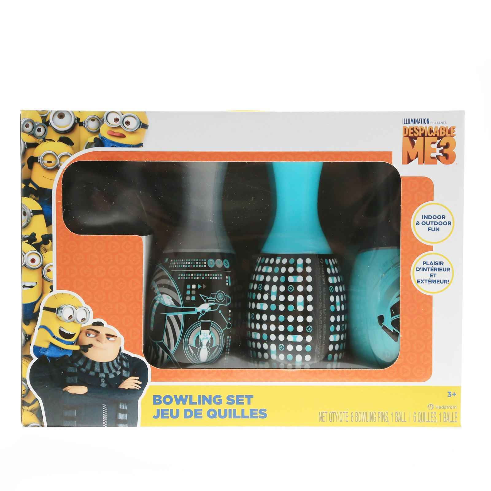 Despicable Me Bowling Set Indoor and Outdoor Sports Toys