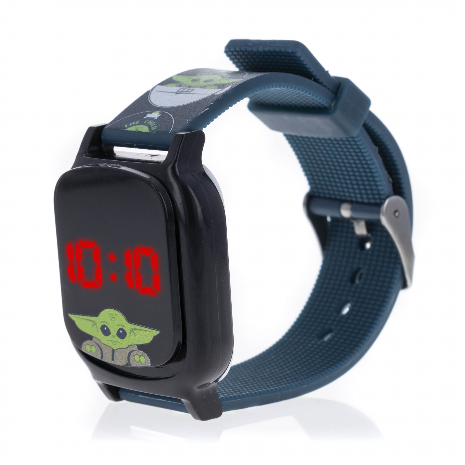 Licensed Baby Yoda LED Display Digital Touch Screen Watch