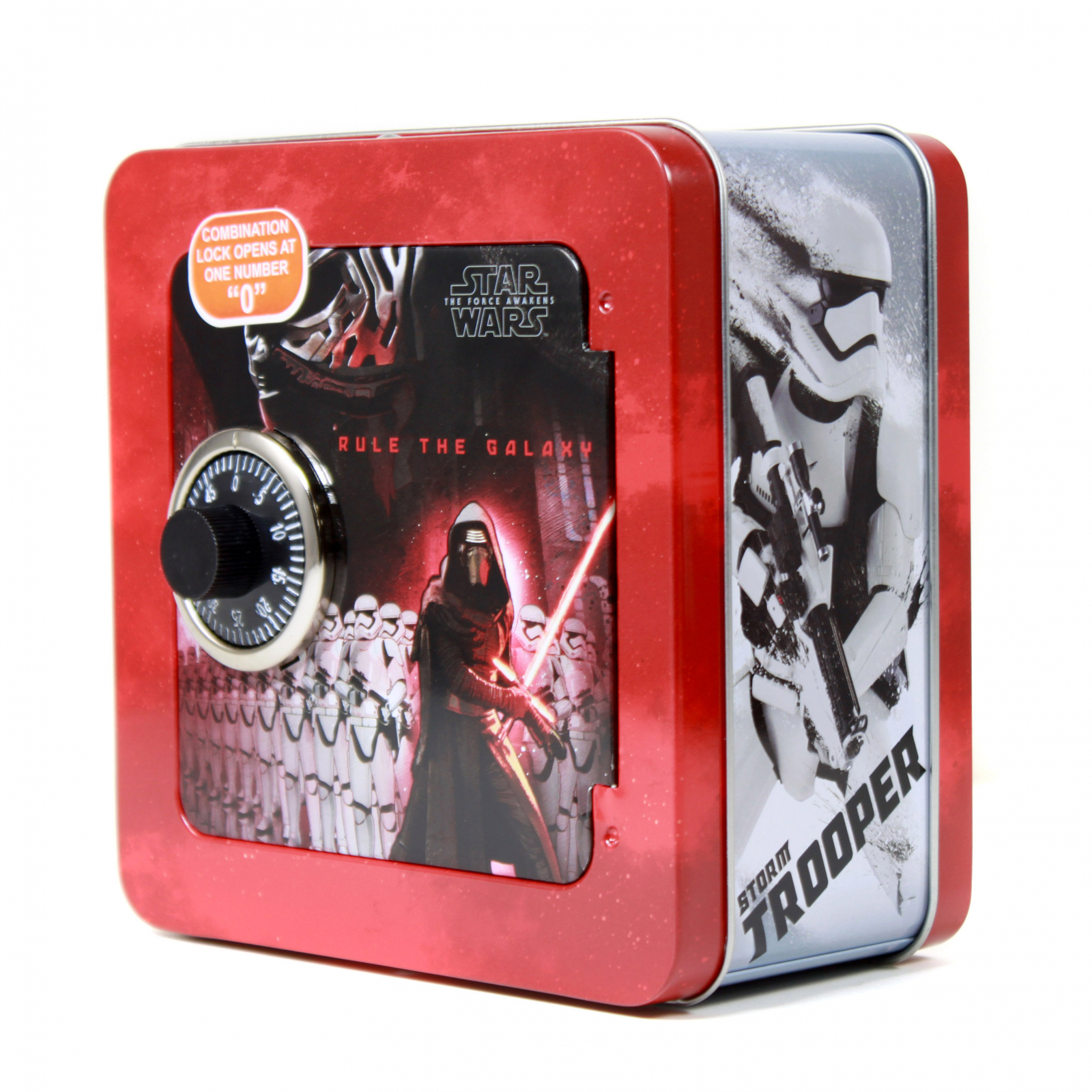 Star Wars The Force Awakens Combination Lock Safe Money Bank