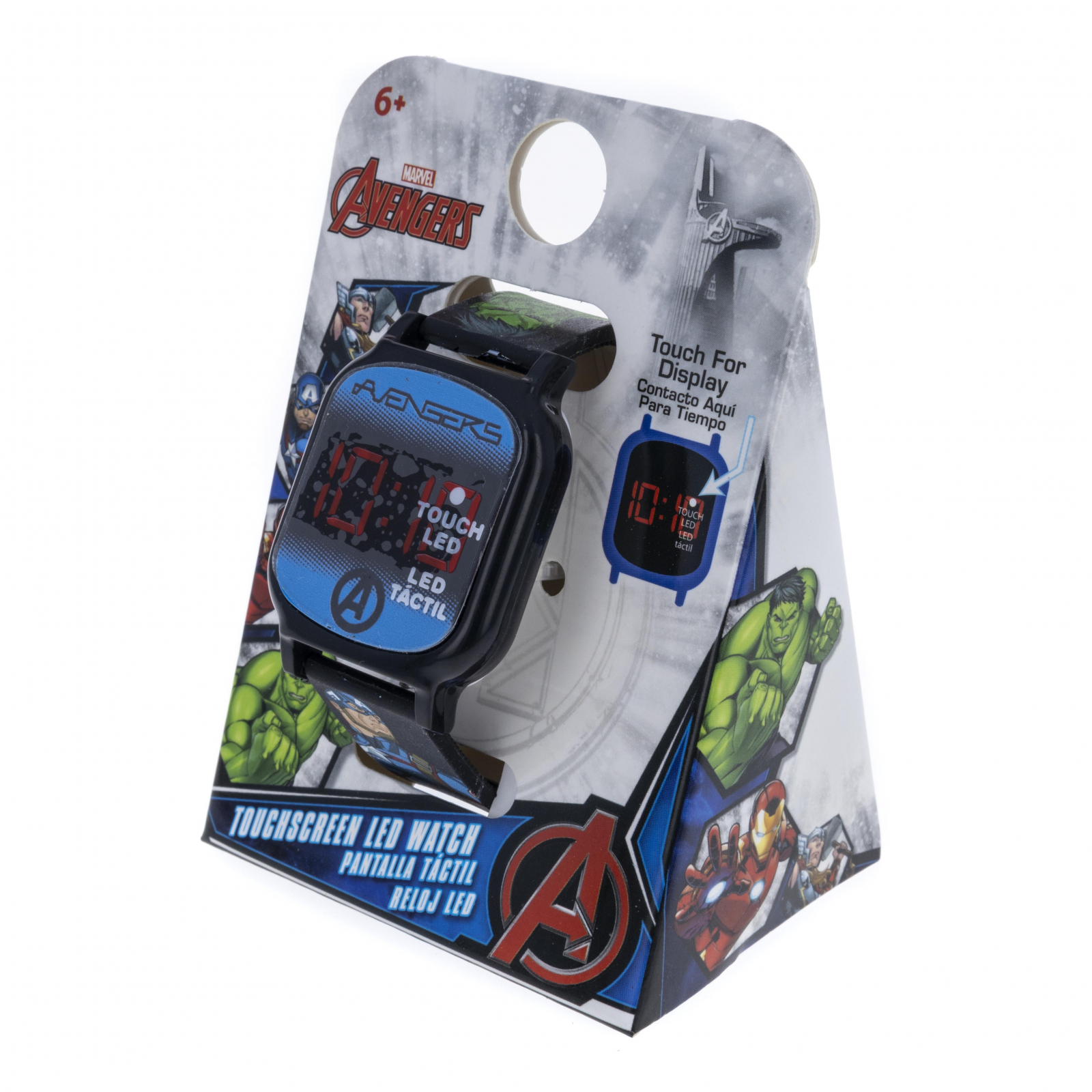 Licensed Avengers LED Display Digital Touch Screen Watch