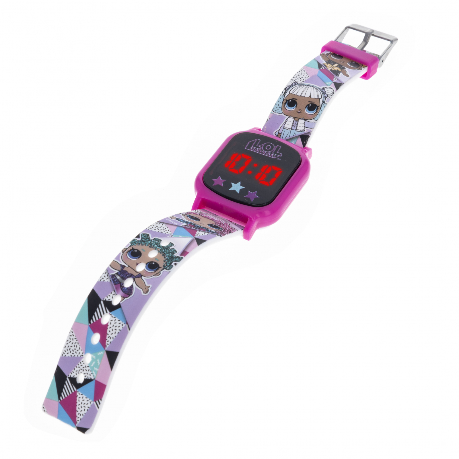 Licensed LOL Surprise LED Display Digital Touch Screen Watch