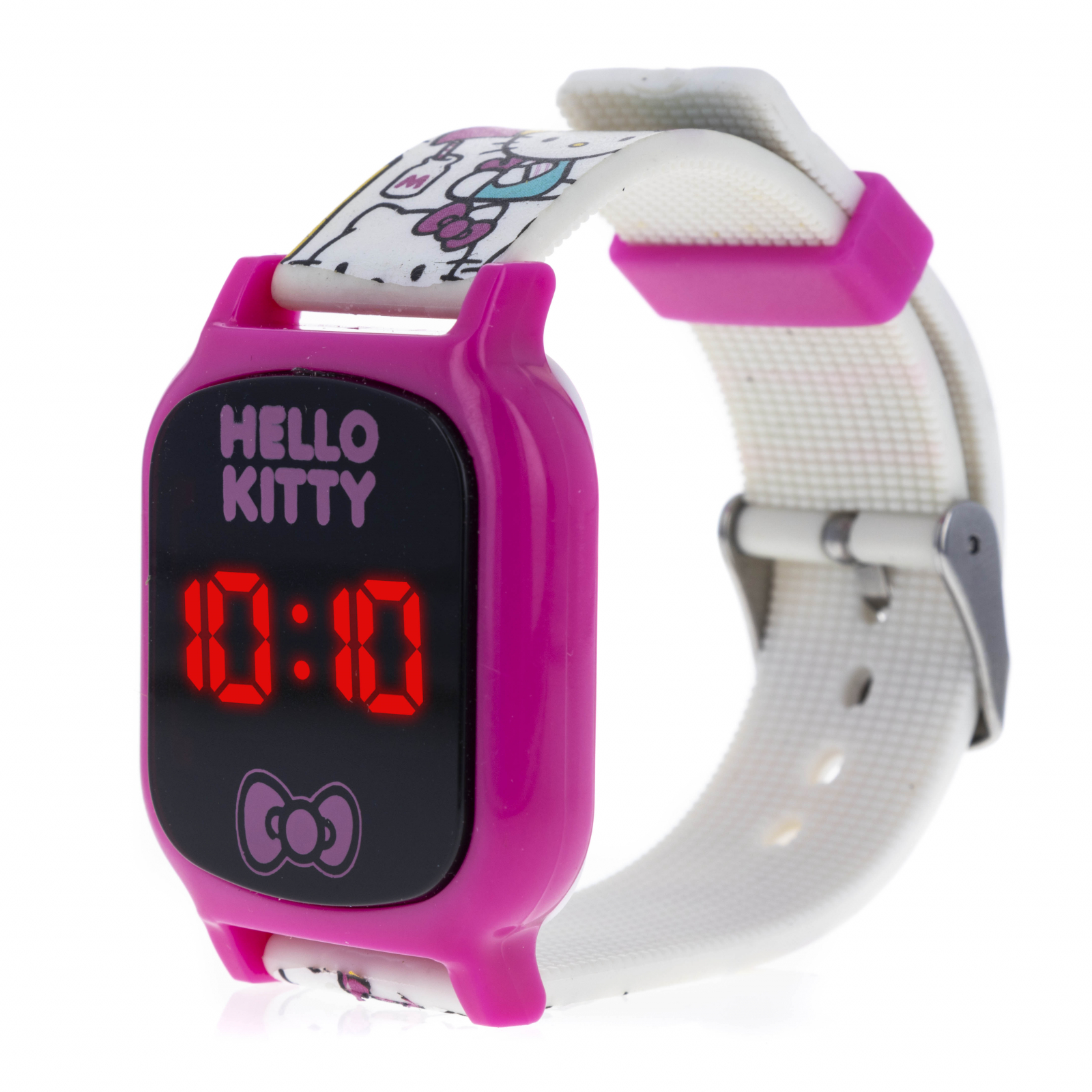 Licensed Hello Kitty LED Display Digital Touch Screen Watch