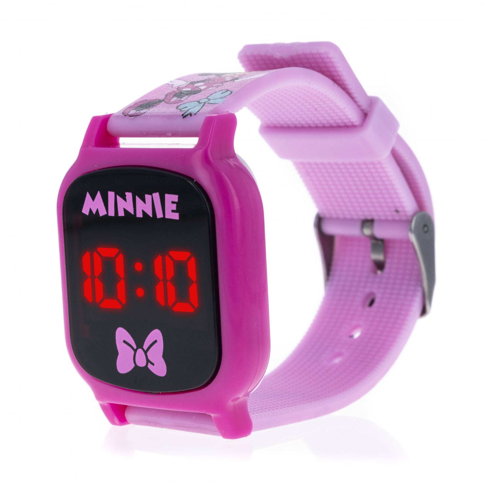 Licensed Minnie Mouse LED Display Digital Touch Screen Watch