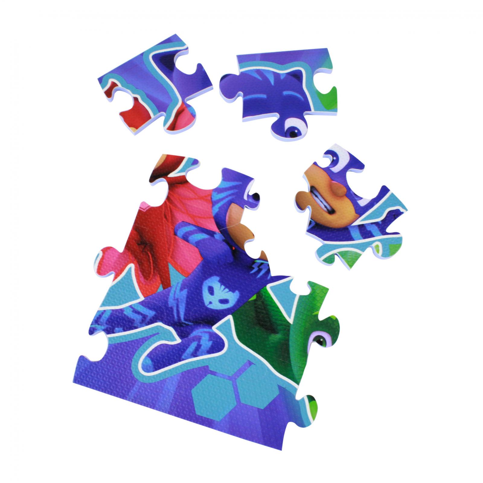 PJ Masks Large 25 Piece Foam Puzzle 13 x 24 Inch Colorful