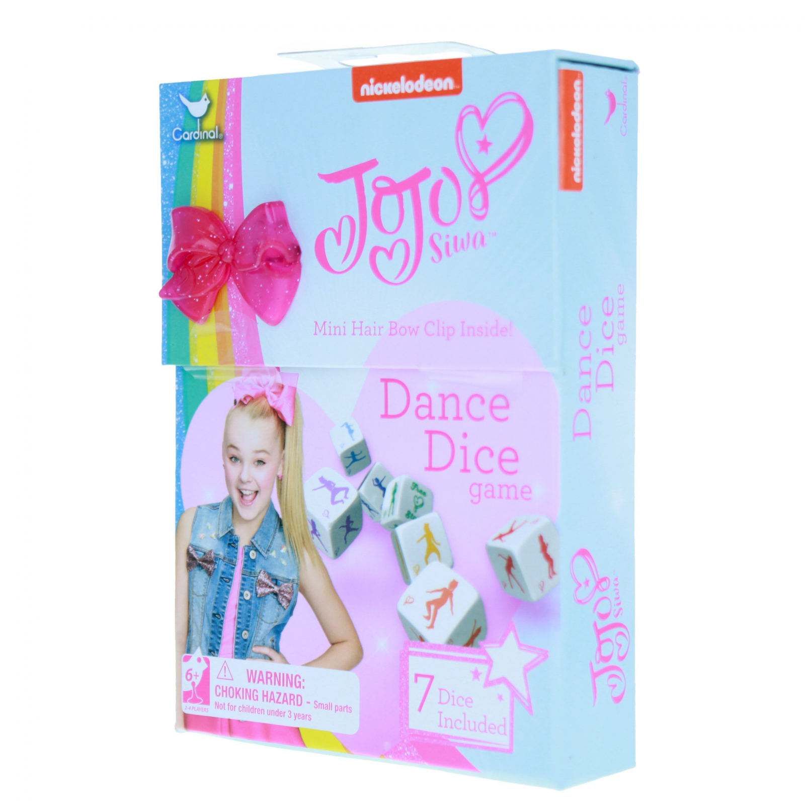 JoJo Siwa Kids Dance Dice Game Promotes Exercise