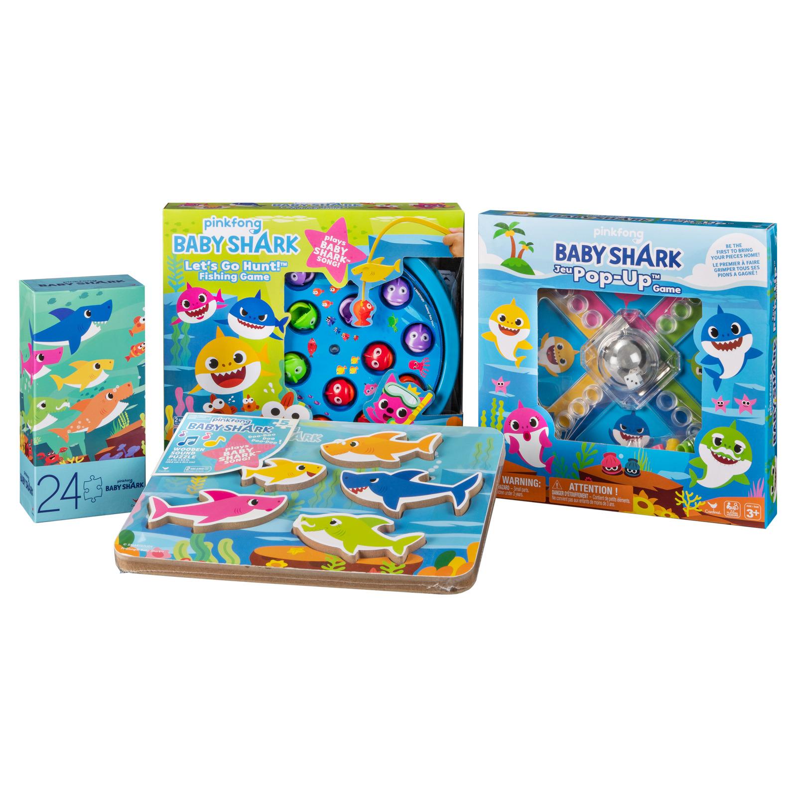 Pinkfong Baby Shark Mega Value Toys Box Set Board Games