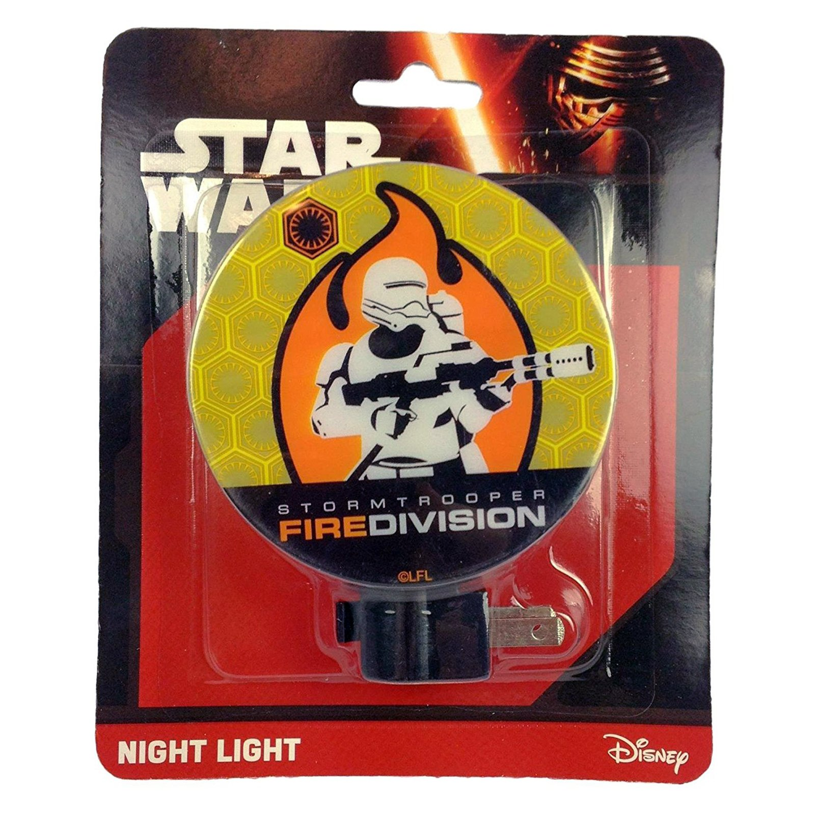 Disney Star Wars Boys Night Light Kids Bedroom Home Decor - Resistance