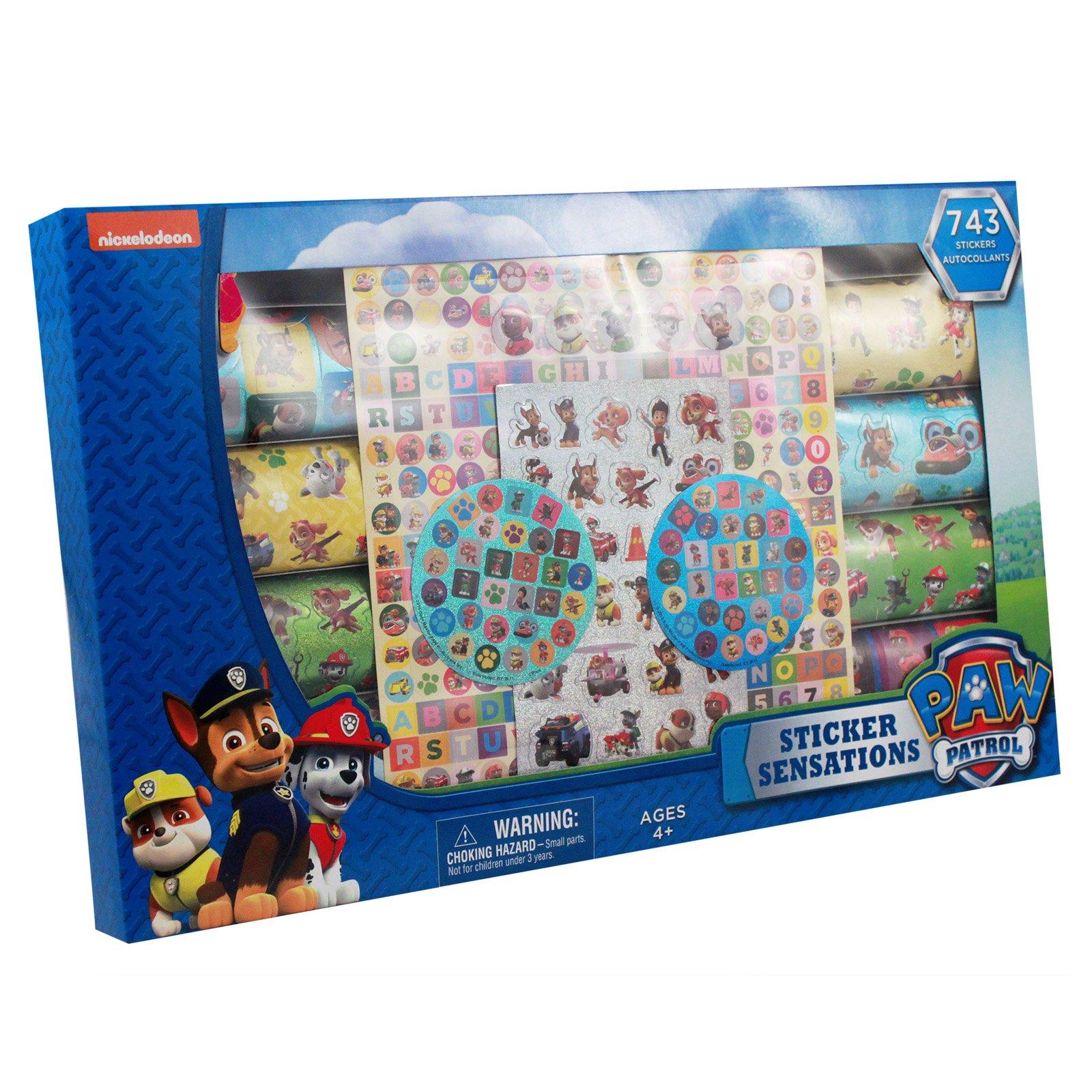 450pc Nickelodeon Paw Patrol Sticker Mania Set Kids Arts and Crafts