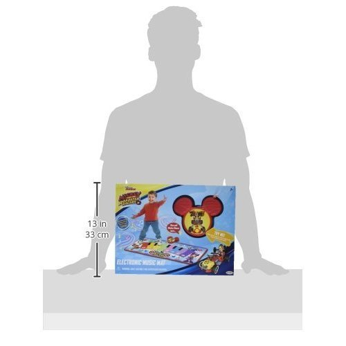Mickey Mouse and the Roadster Racers Electronic Music Mat Play