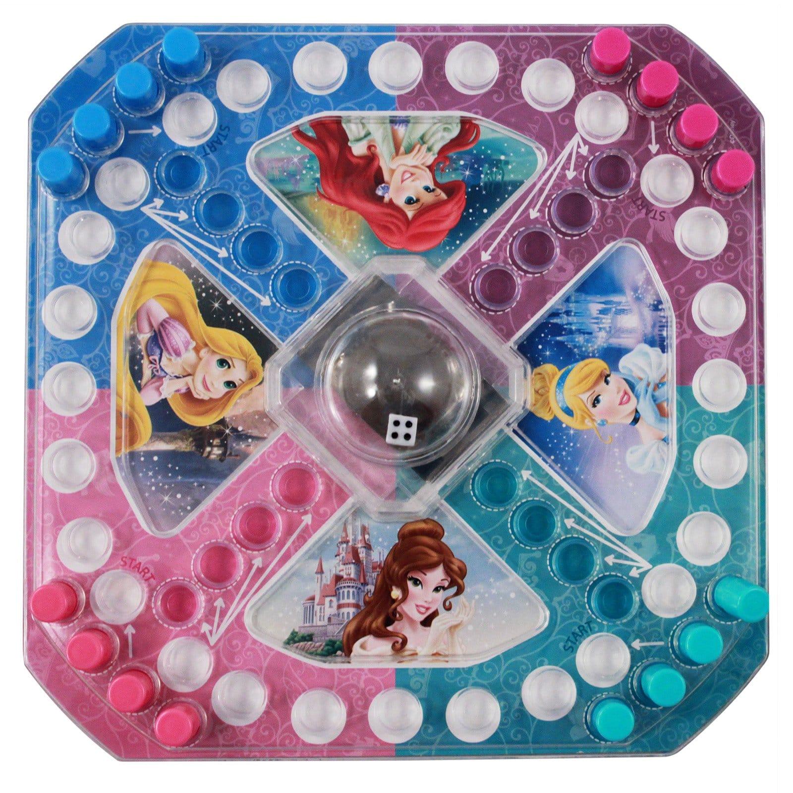 Disney Princess Ariel Rapunzel Belle Cinderella Race to the Palace Pop Up Game