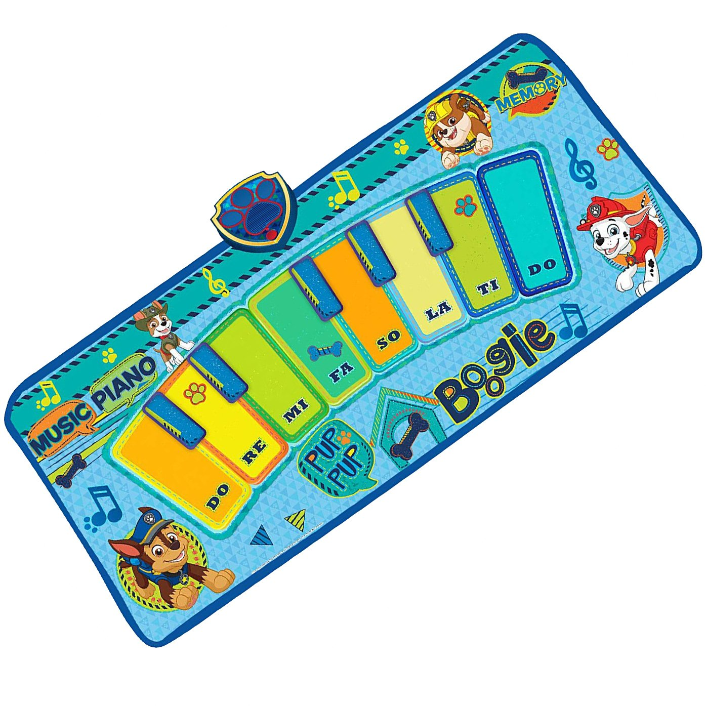 Nickelodeon Paw Patrol Electronic Music Dance Play Mat