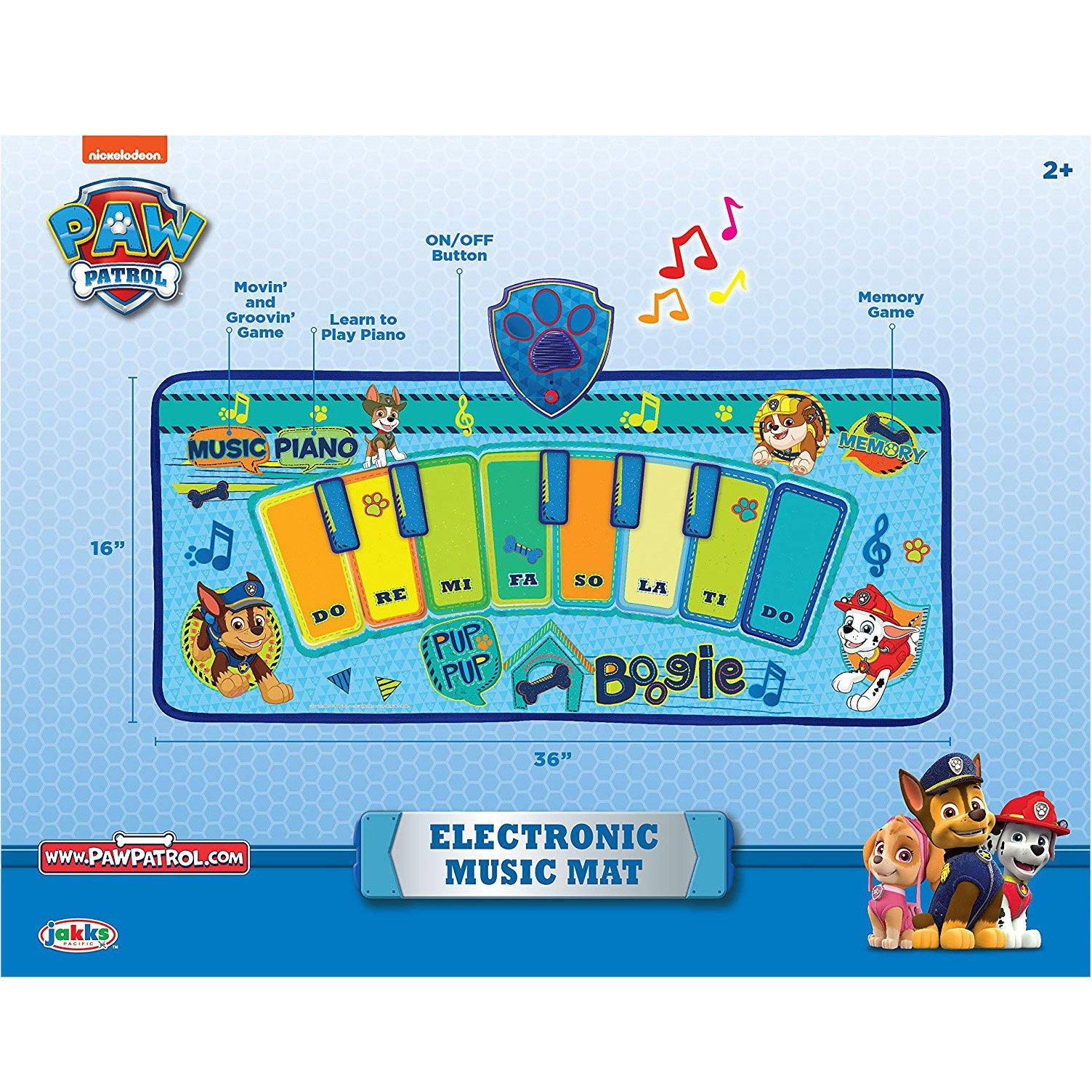 Nickelodeon Paw Patrol Electronic Music Dance Play Mat